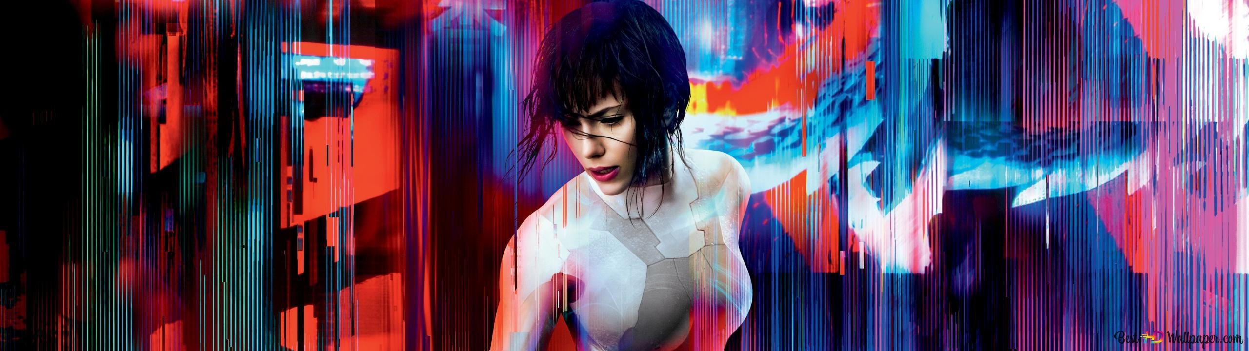 Ghost In The Shell Movie Scarlett Johansson Hd Wallpaper Download