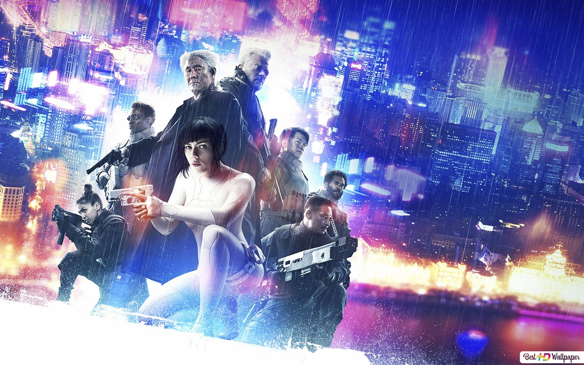 Ghost In The Shell Movie Hd Wallpaper Download