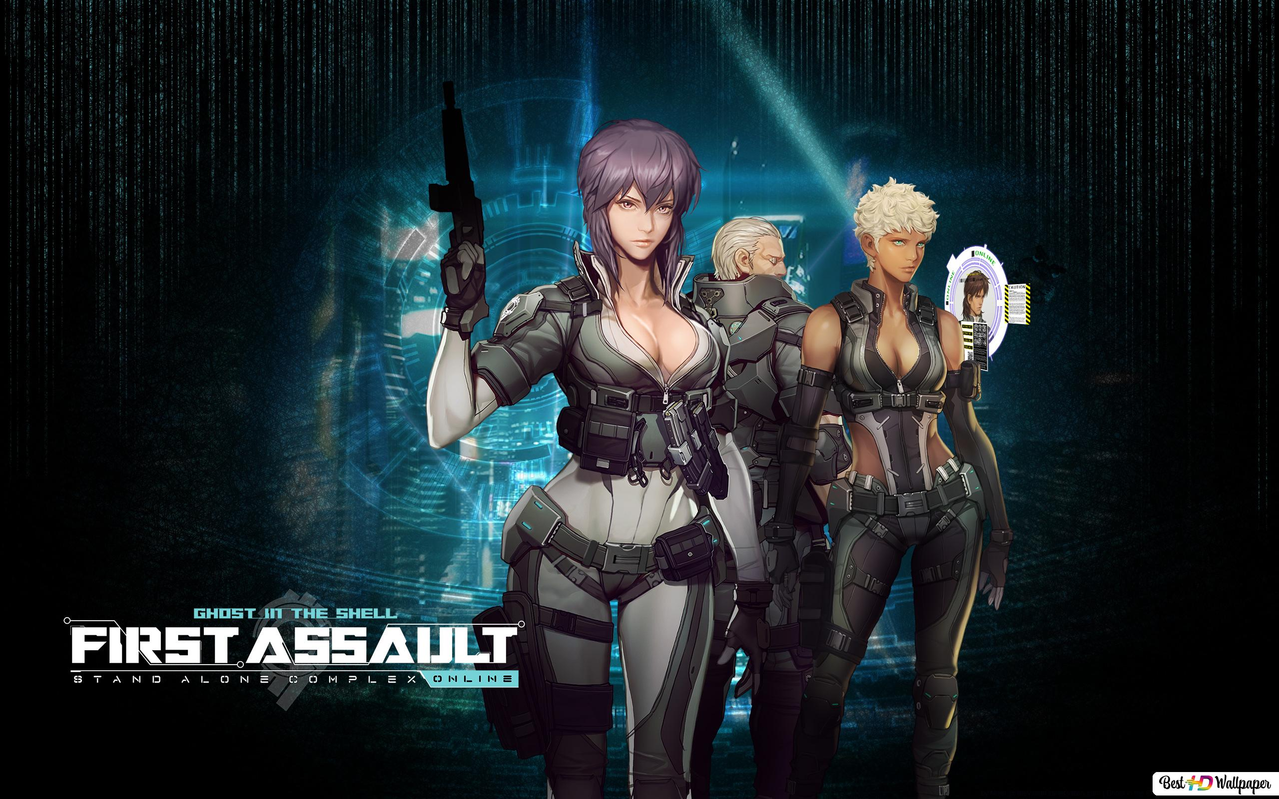 Ghost In The Shell Stand Alone Complex First Assault Online Hd