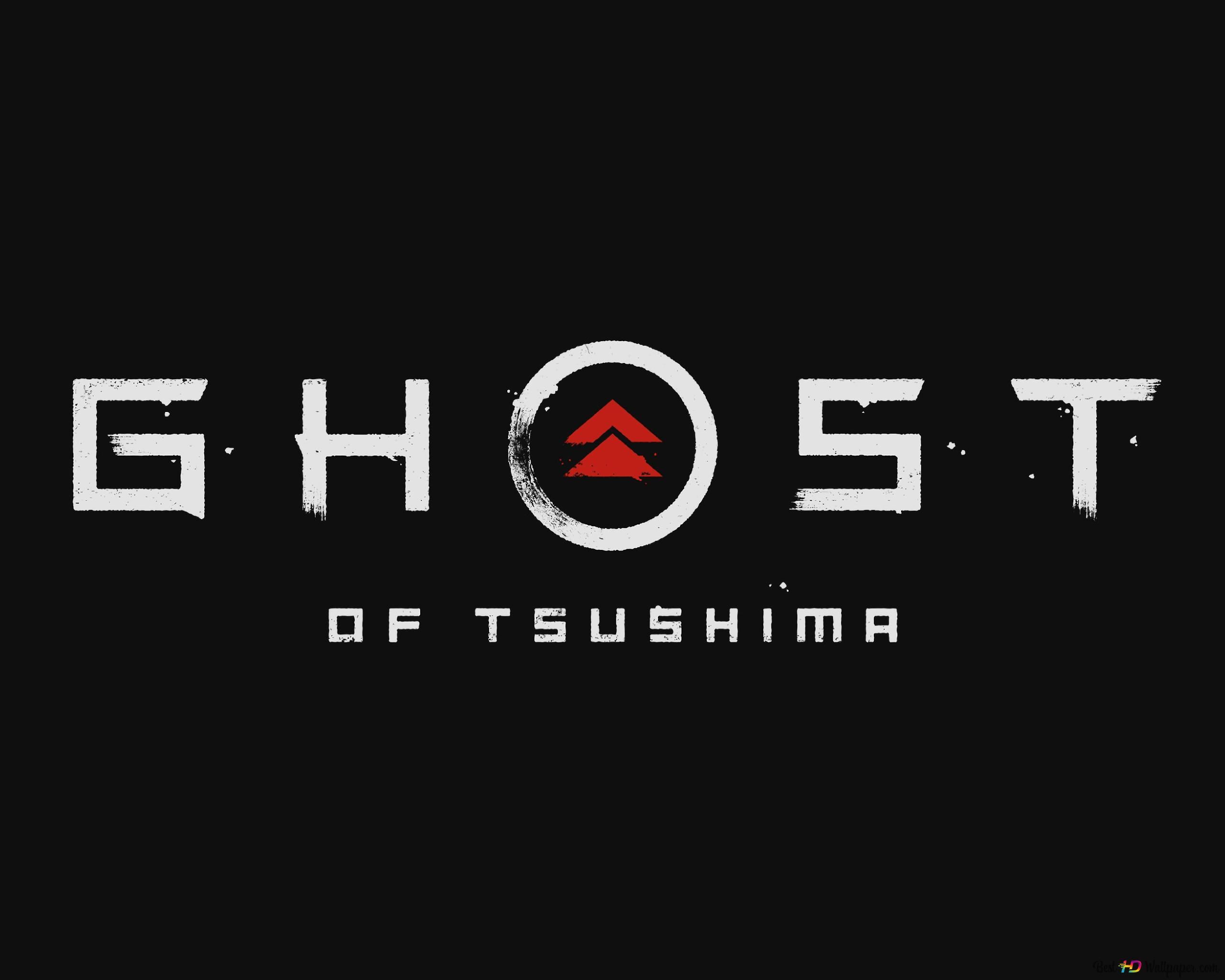 Ghost Of Tsushima 2019 Logo Hd Wallpaper Download