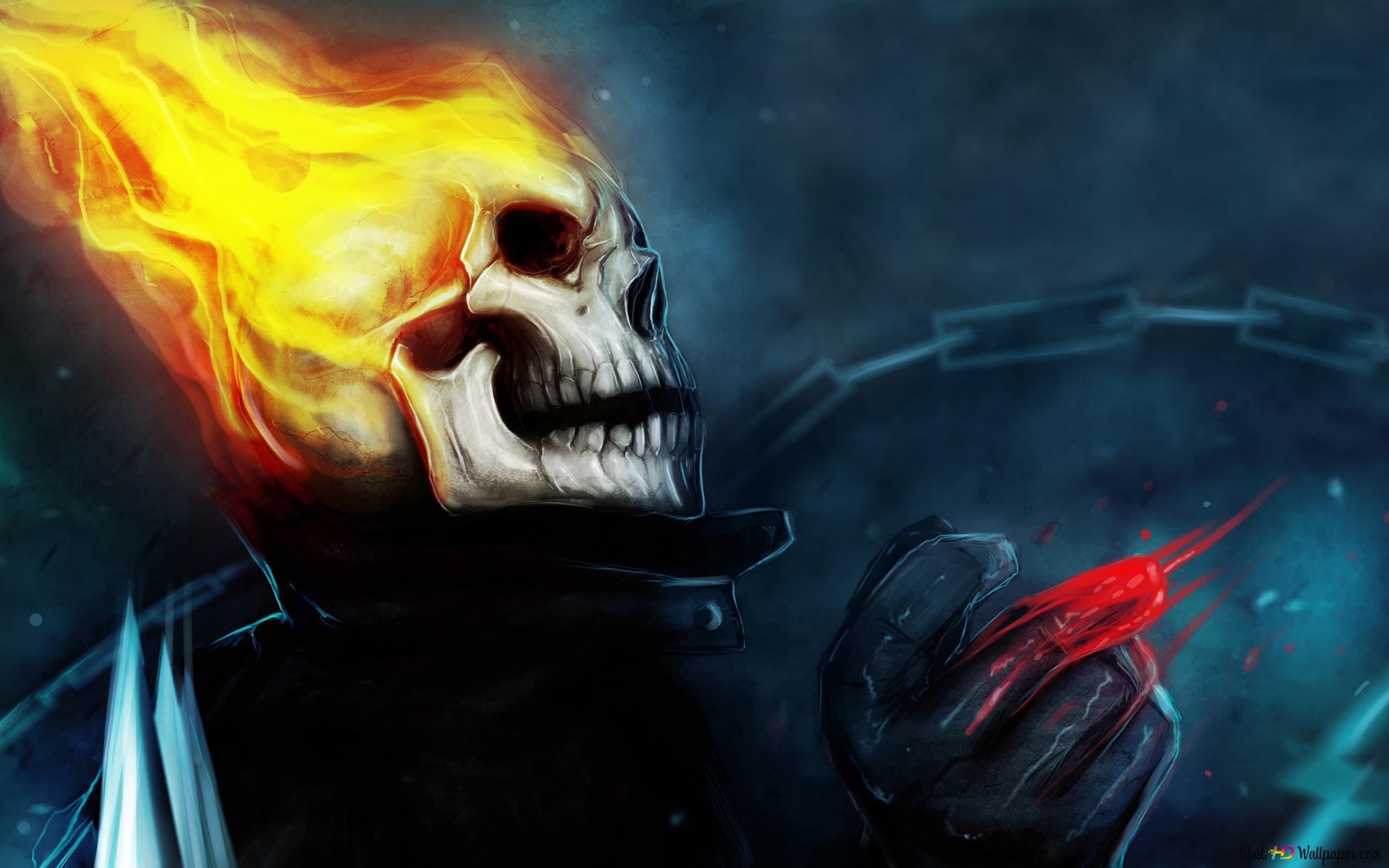Ghost Rider Marvel HD wallpaper download
