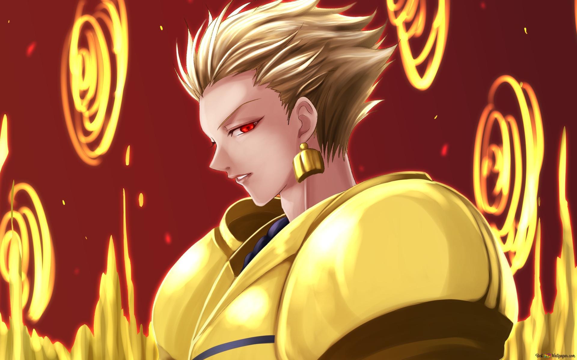 Descargar Fondo De Pantalla Gilgamesh Fate Zero Hd