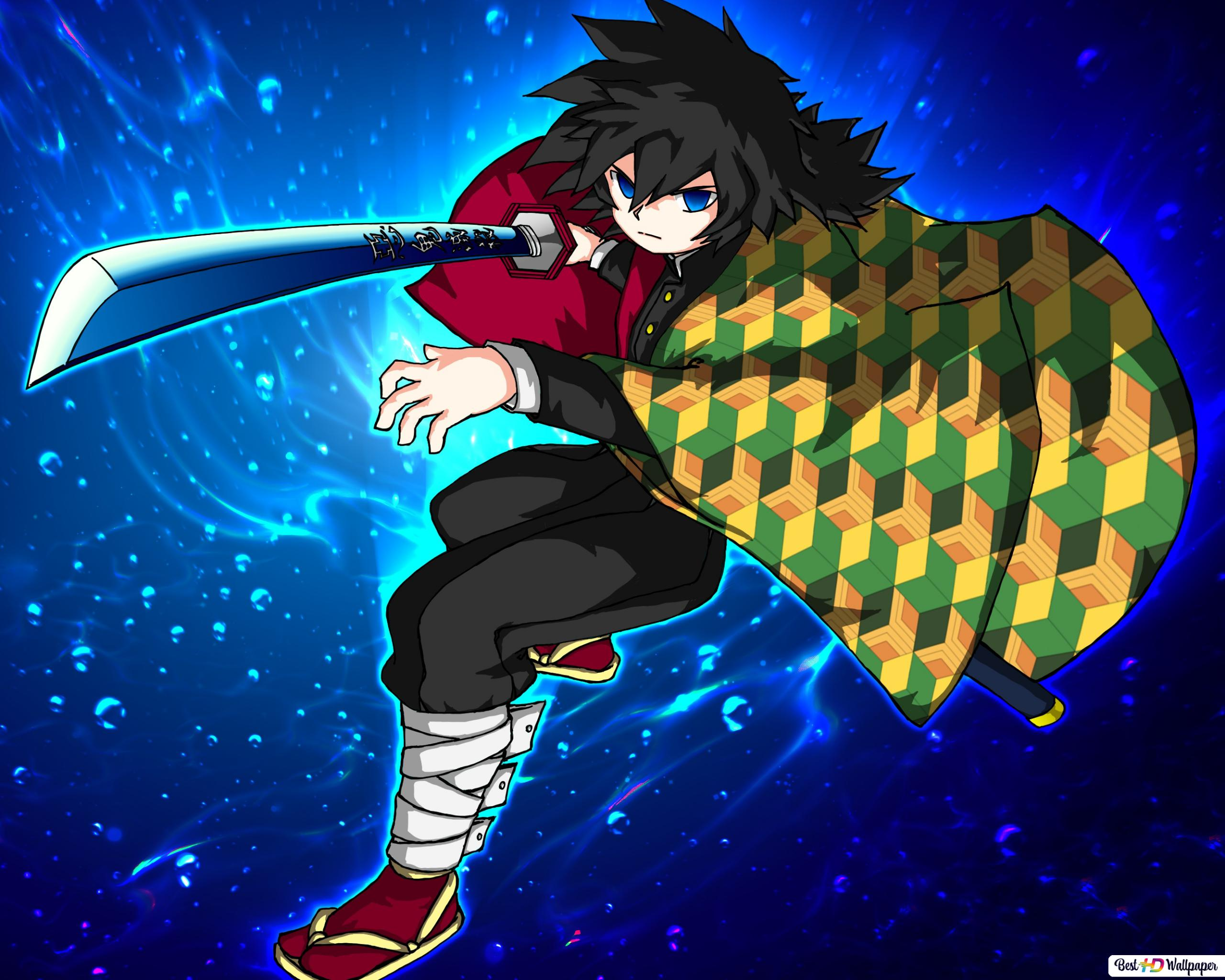 Giyuu Tomioka Demon Slayer Kimetsu No Yaiba Hd Wallpaper Download