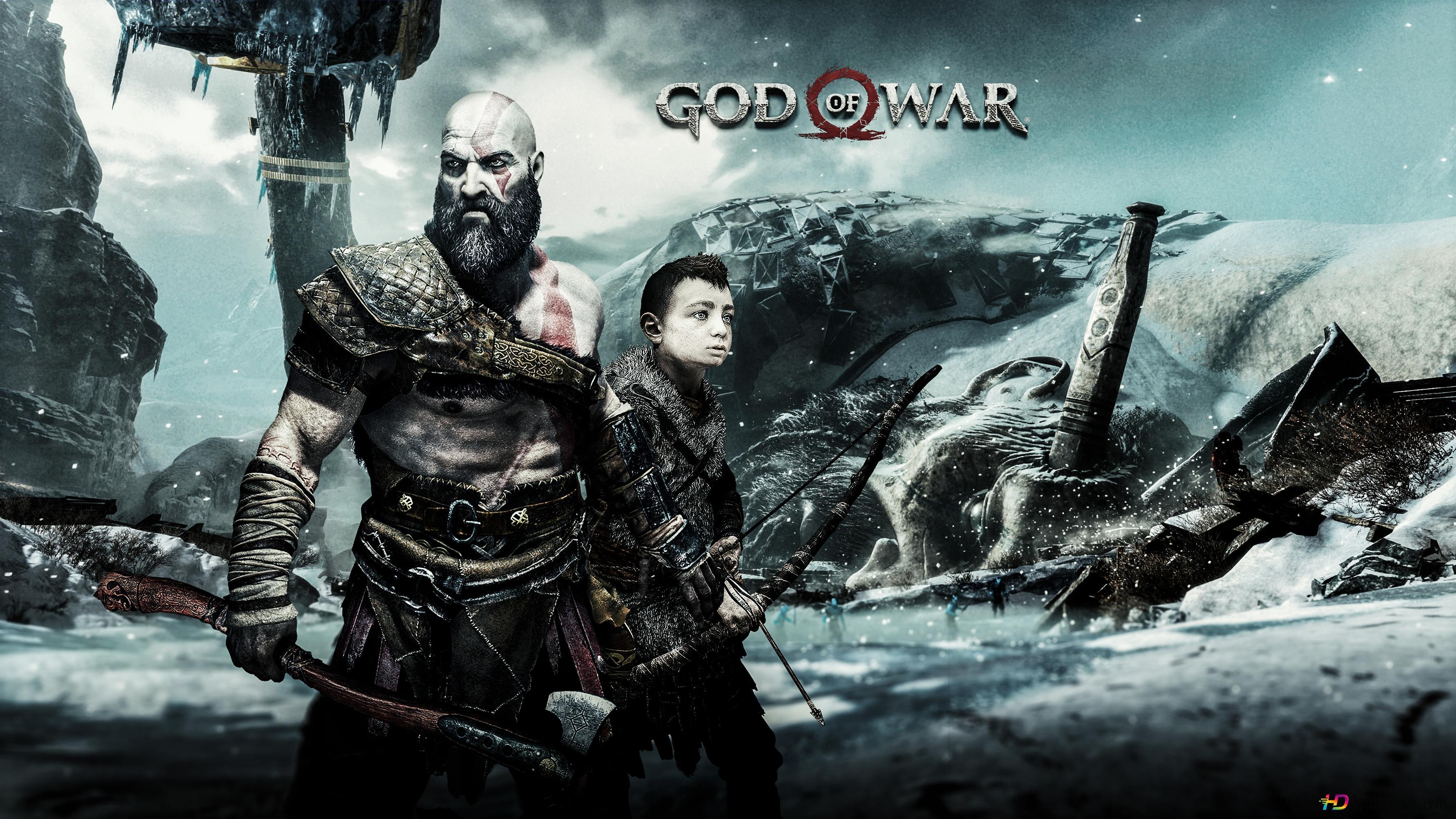God Of War 2018 Hd Wallpaper Download
