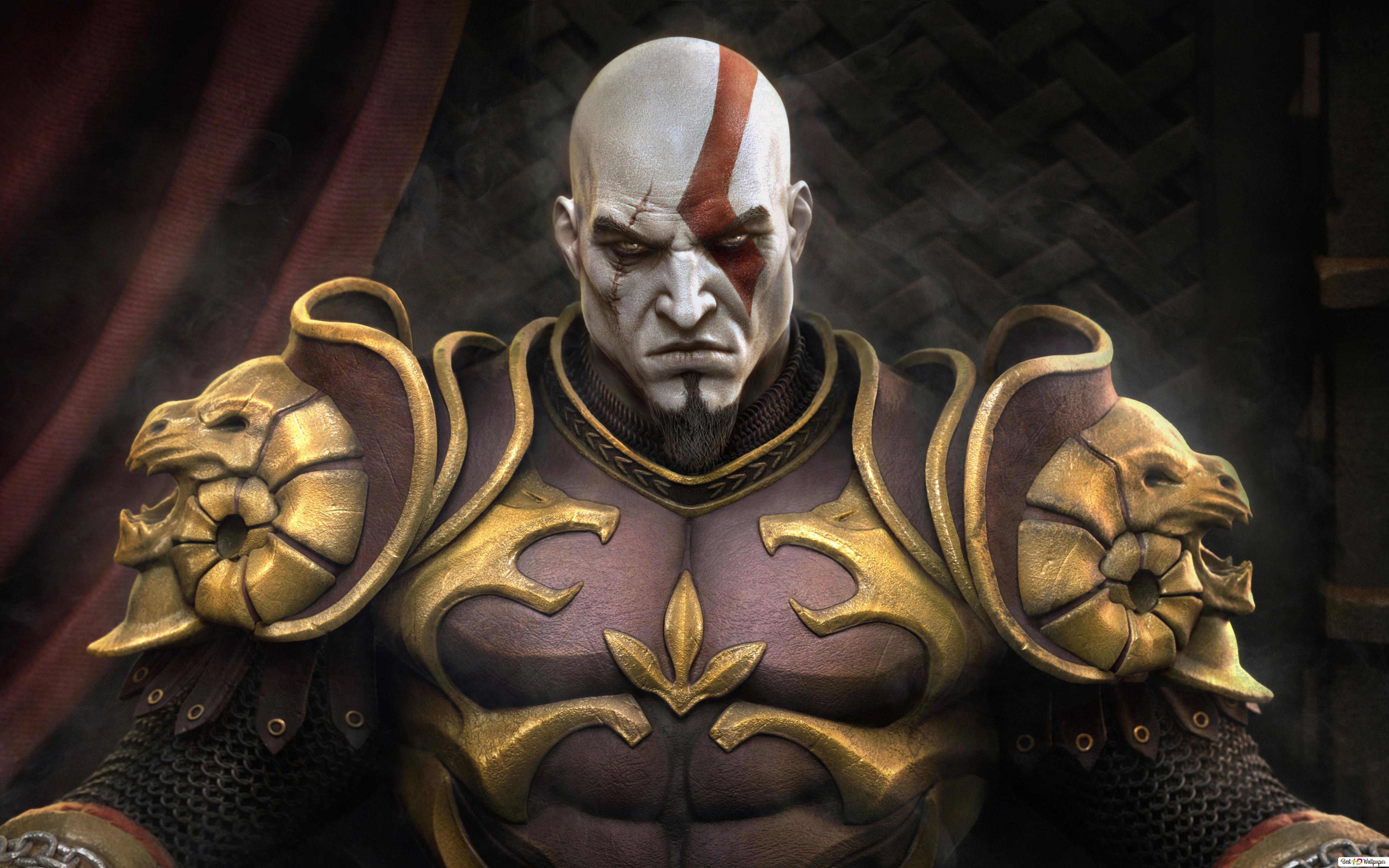God of War game - Kratos Armor HD wallpaper download