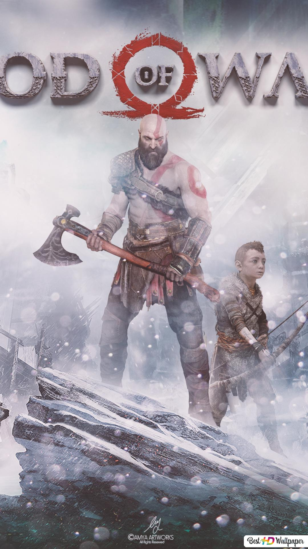 God Of War Kratos Hd Tapety Do Pobrania