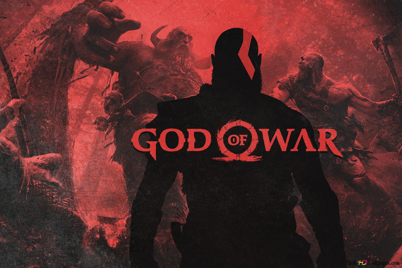 God Of War Kratos Hd Hintergrundbilder Herunterladen
