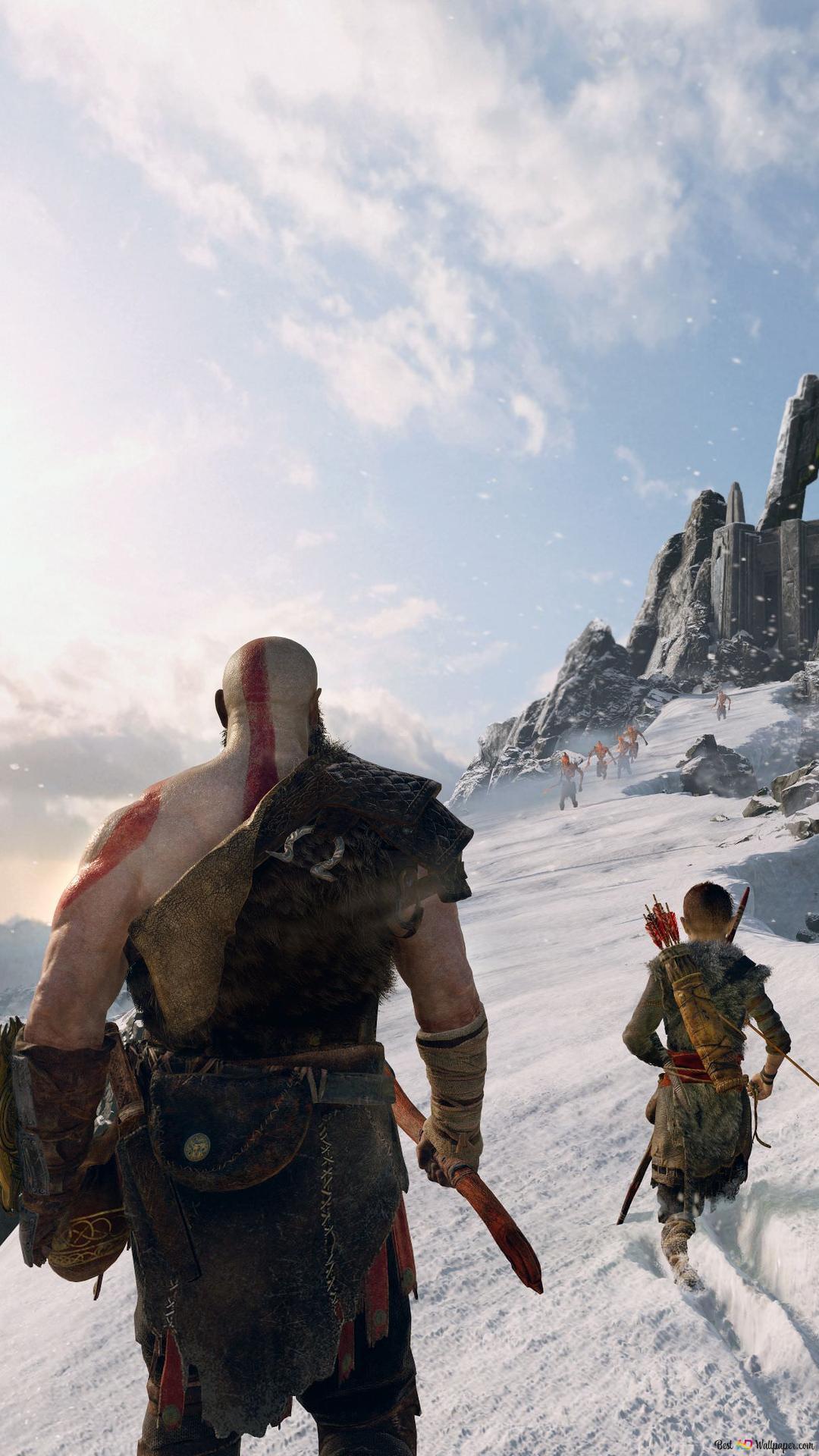 God Of War Kratos Hd Wallpaper Download