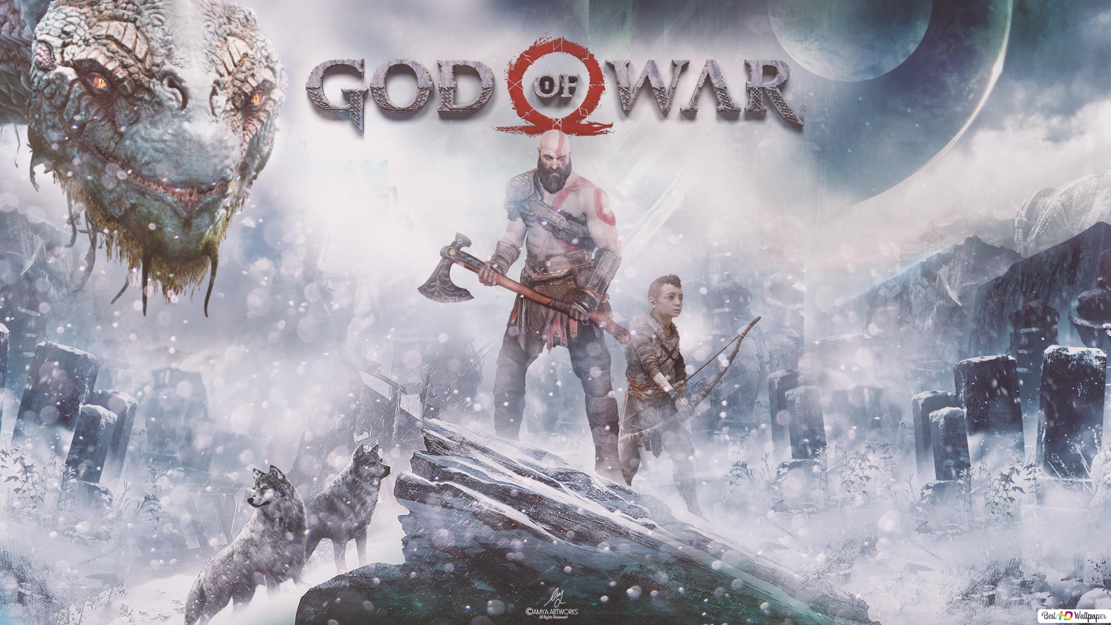God Of War Kratos Hd Wallpaper Download