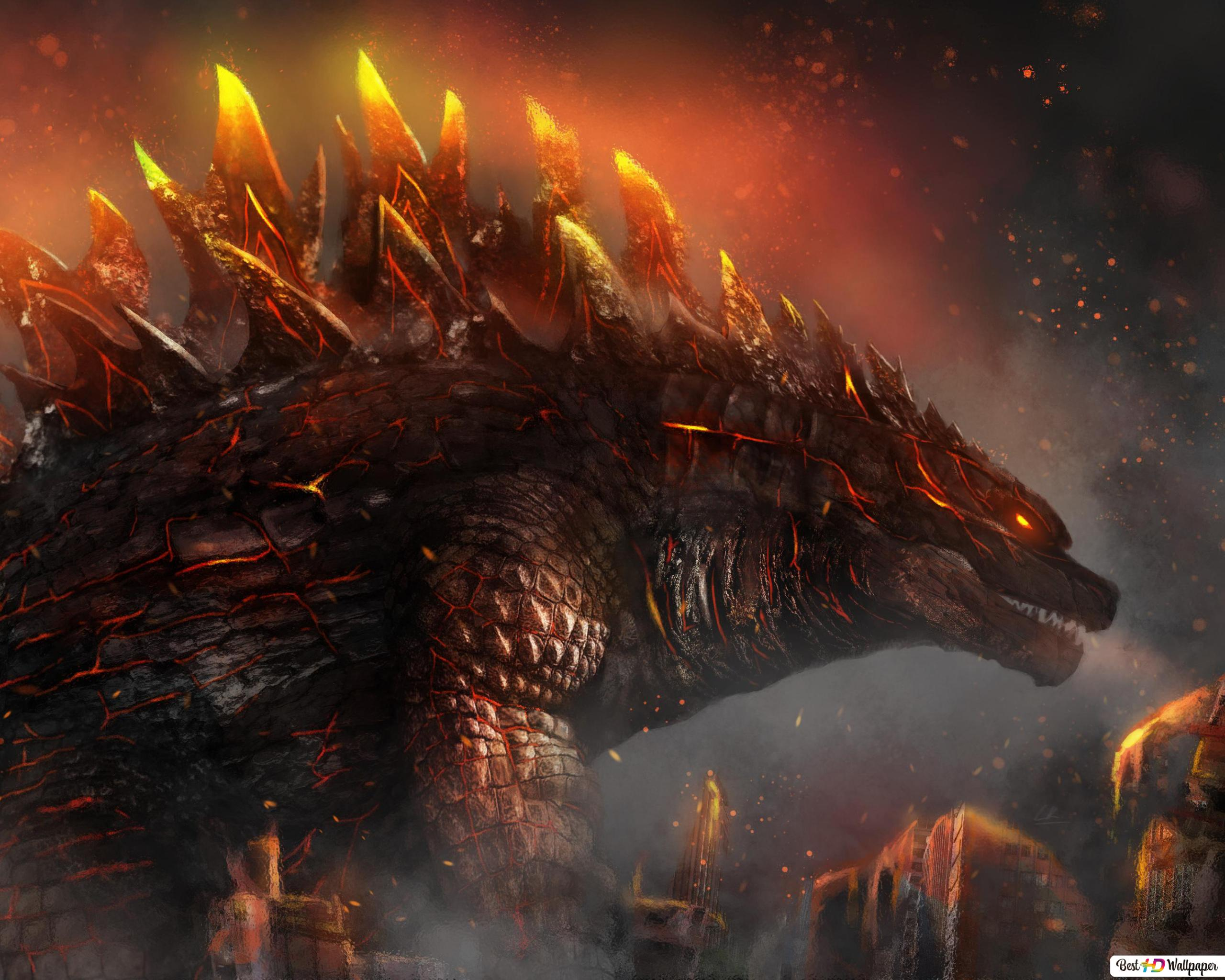 Godzilla King Of The Monsters Hd Wallpaper Download