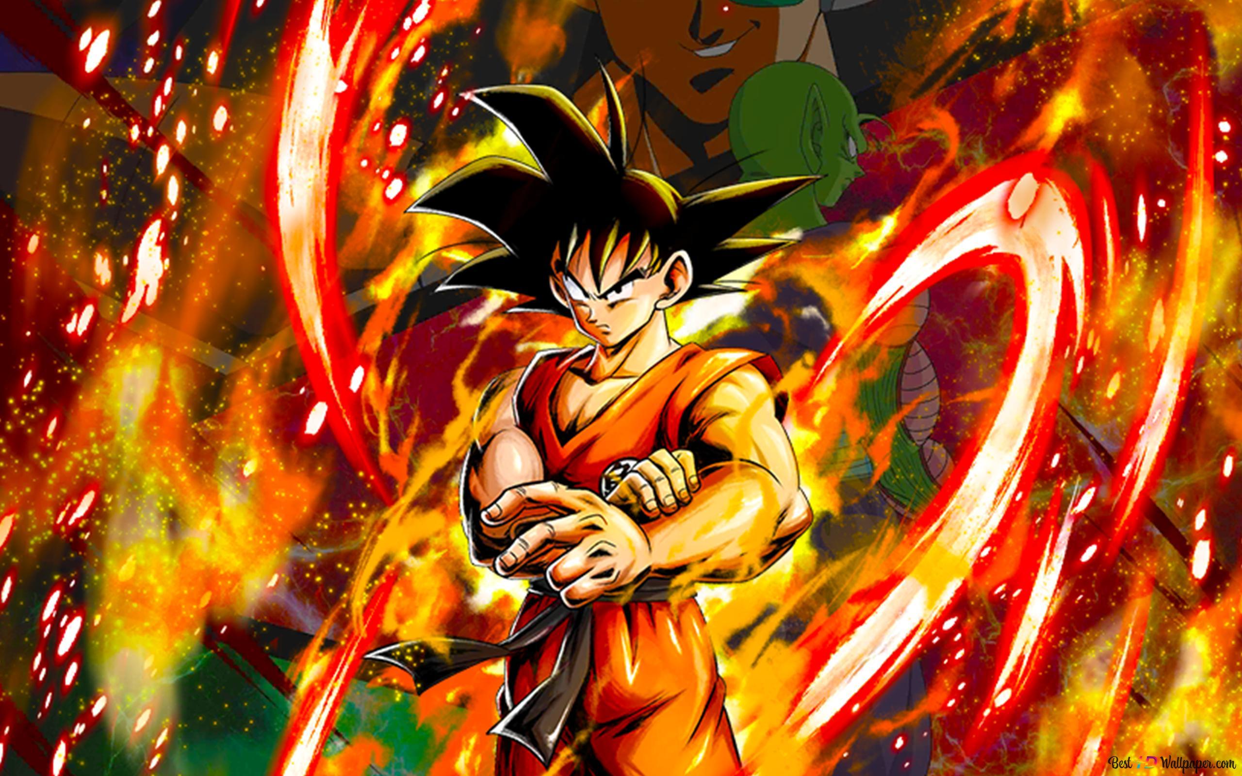 Goku Saiyan Saga Raditz Saga From Dragon Ball Z Dragon Ball Legends Arts For Desktop Hd Wallpaper Download