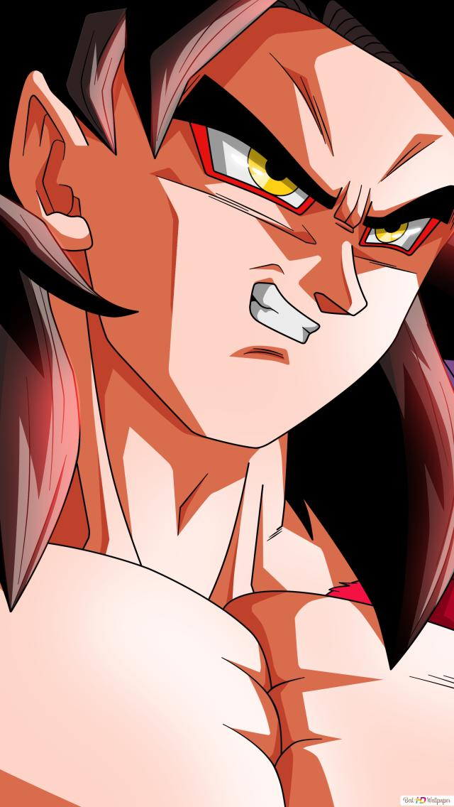 Goku Super Saiyan 4 Hd Wallpaper Download