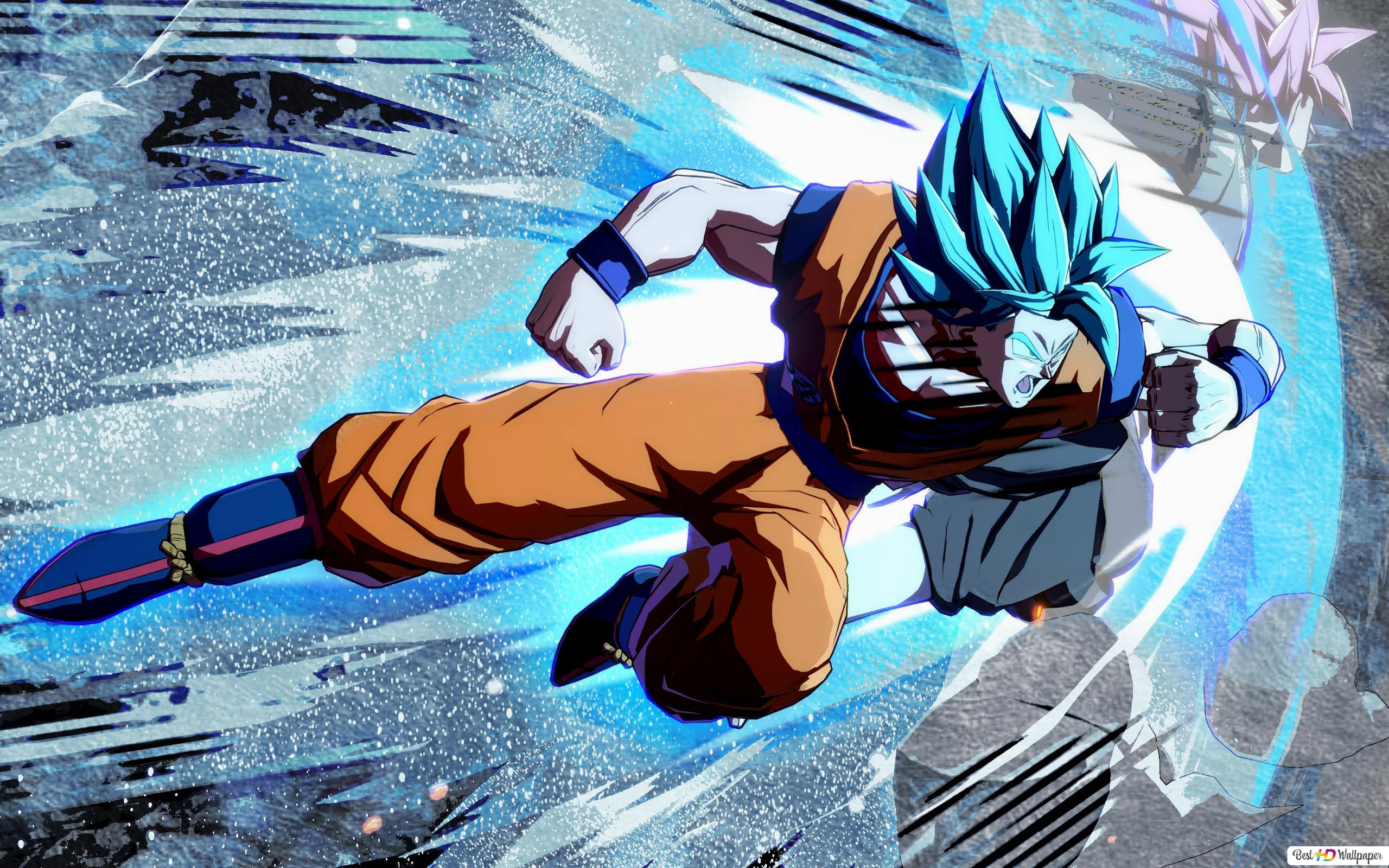 Goku Super Saiyan Blue Hd Wallpaper Download