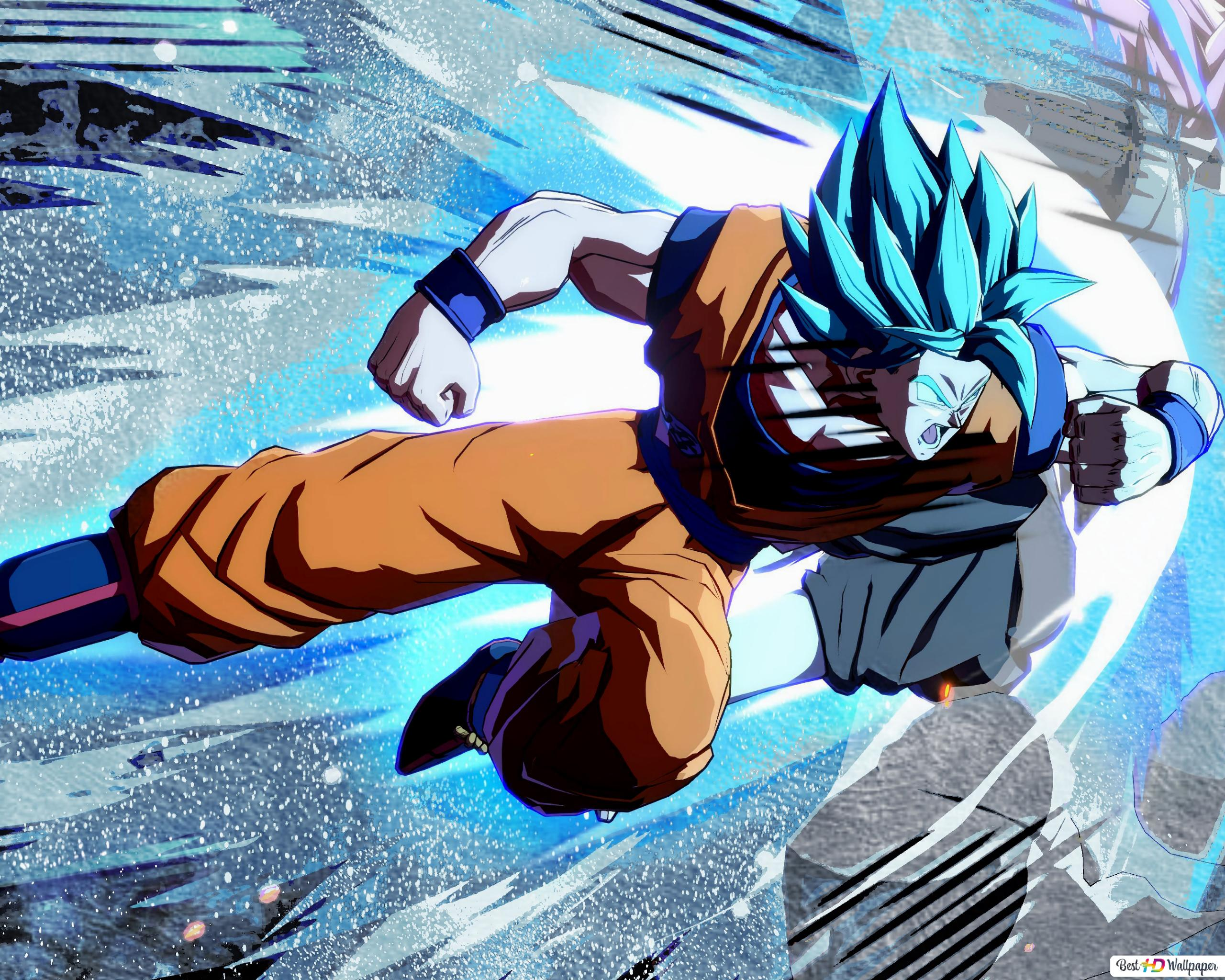 Goku Super Saiyan Blue Hd Wallpaper Download