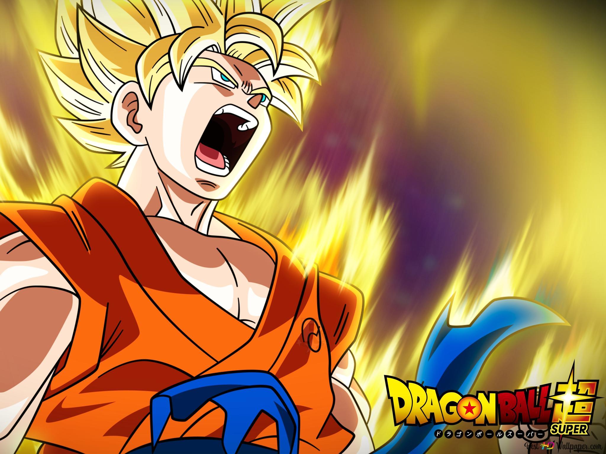 Descargar Fondo De Pantalla Goku Super Saiyan Hd