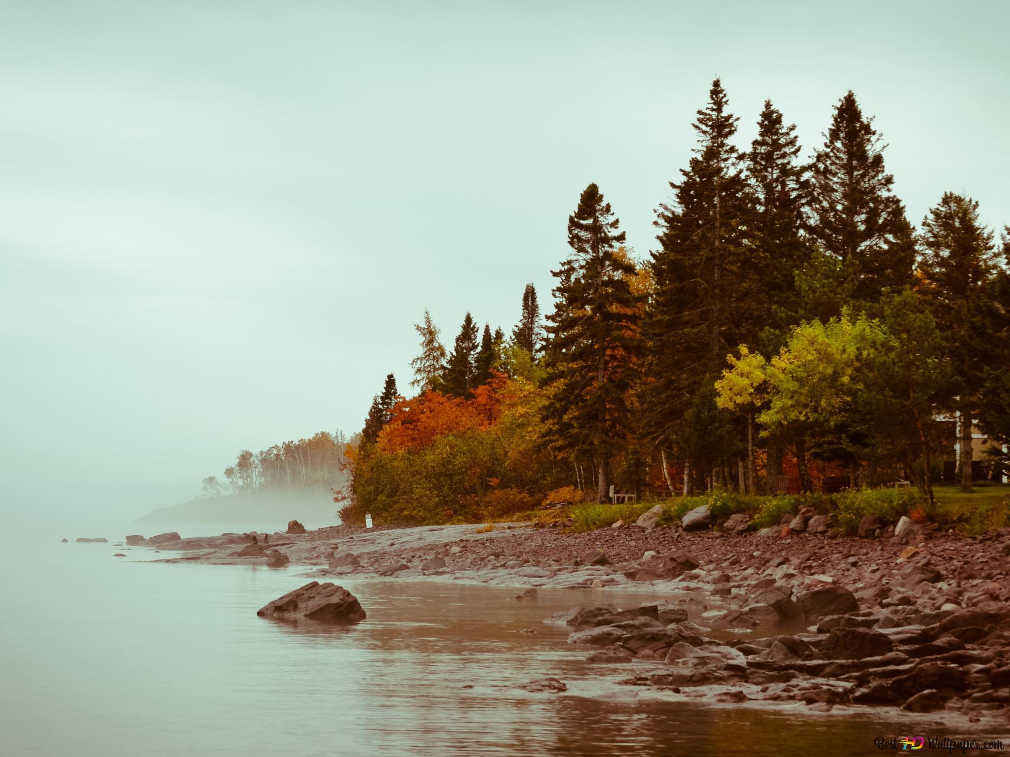 Gölün Doğa Arka Plan Hd Duvar Kağıdı Indir