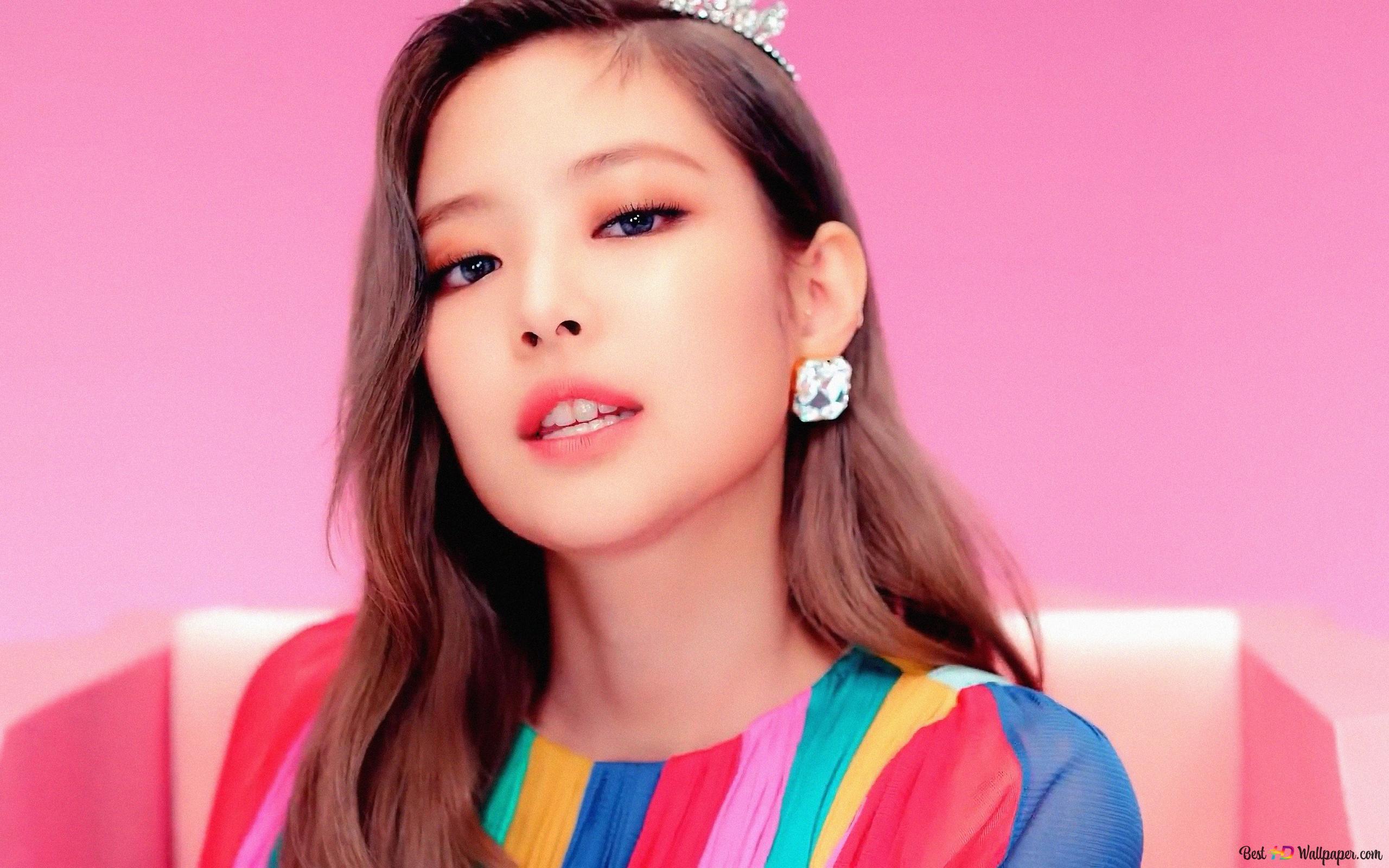 Gorgeous Jennie Kim From Blackpink Hd Wallpaper Download