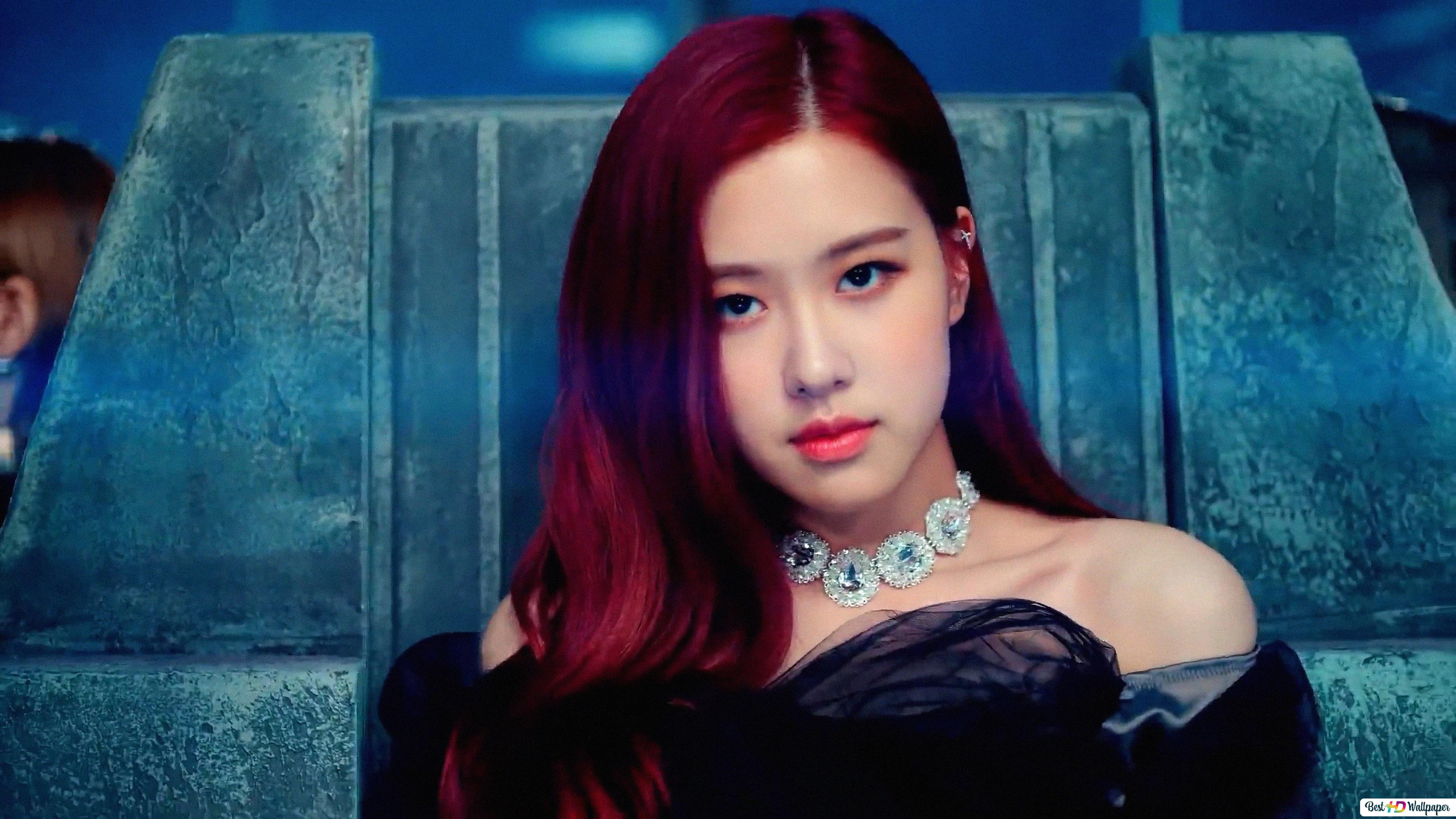 Gorgeous Rose From Blackpink Hd Wallpaper Download