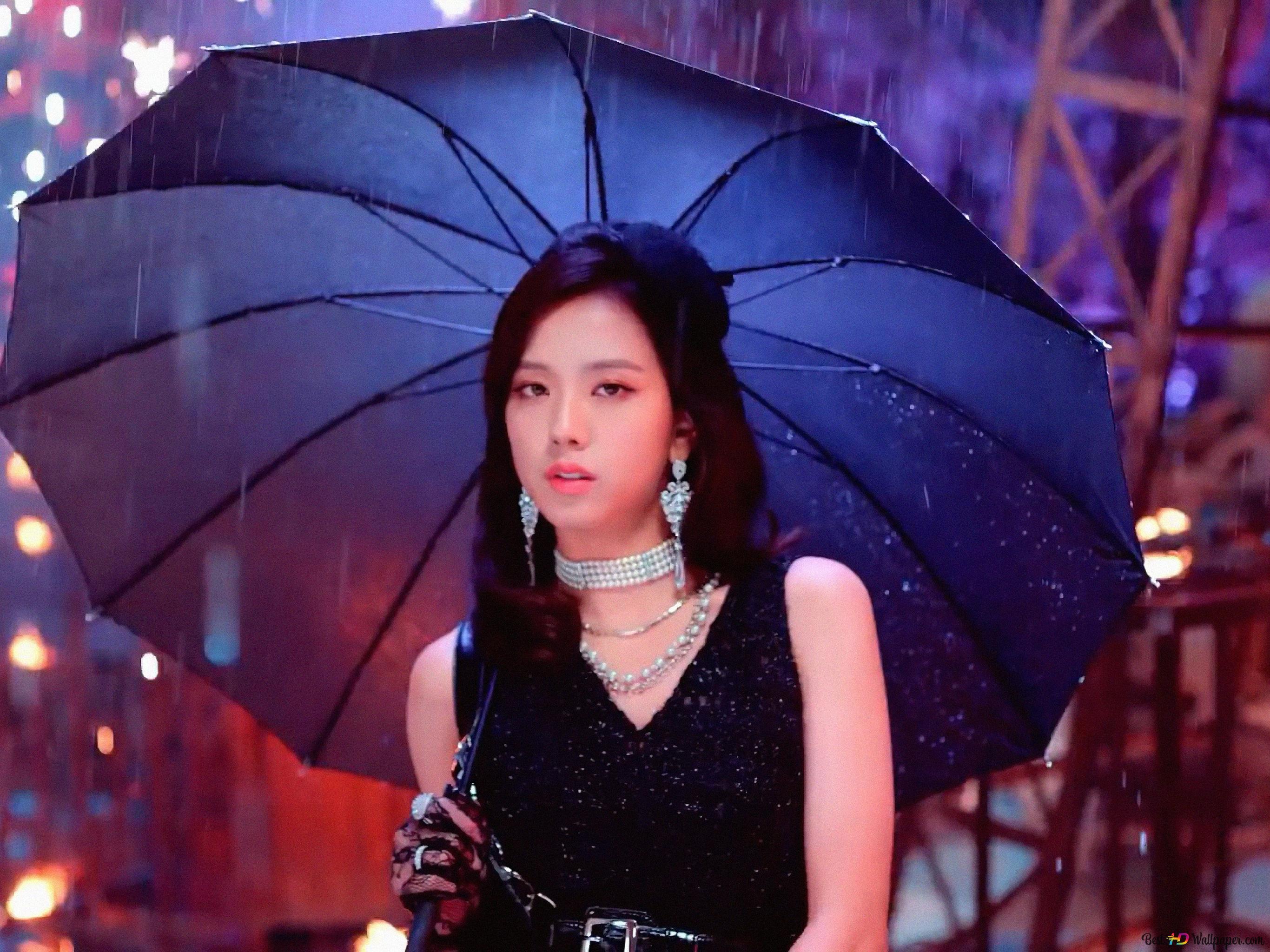 Gorgeous Singer Jisoo From Blackpink Hd Wallpaper Download