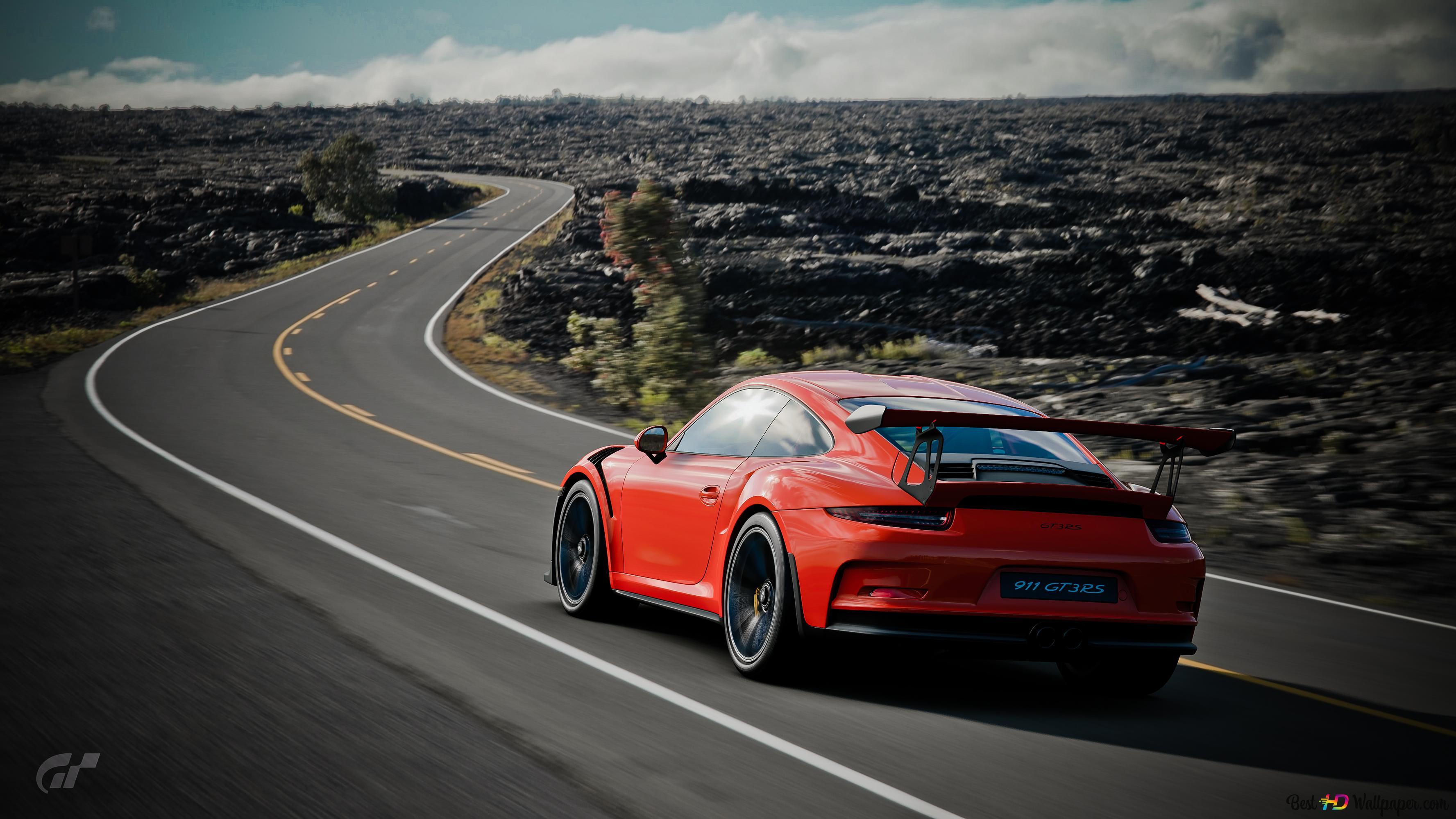 Gran Turismo Sport Porsche 911 Gt3 Rs Unduhan Wallpaper Hd