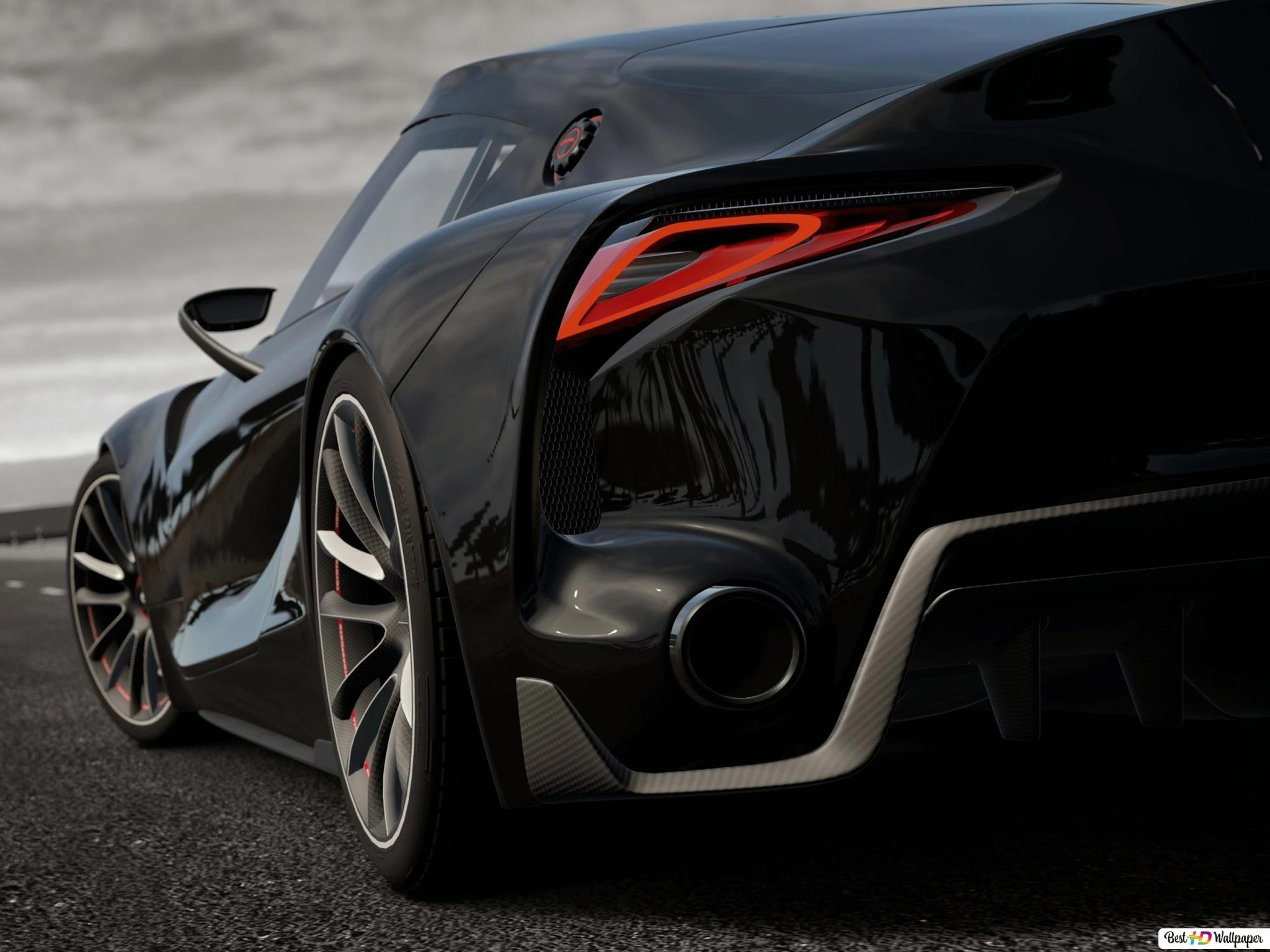 Gran Turismo Vi Black Luxurious Car Hd Wallpaper Download