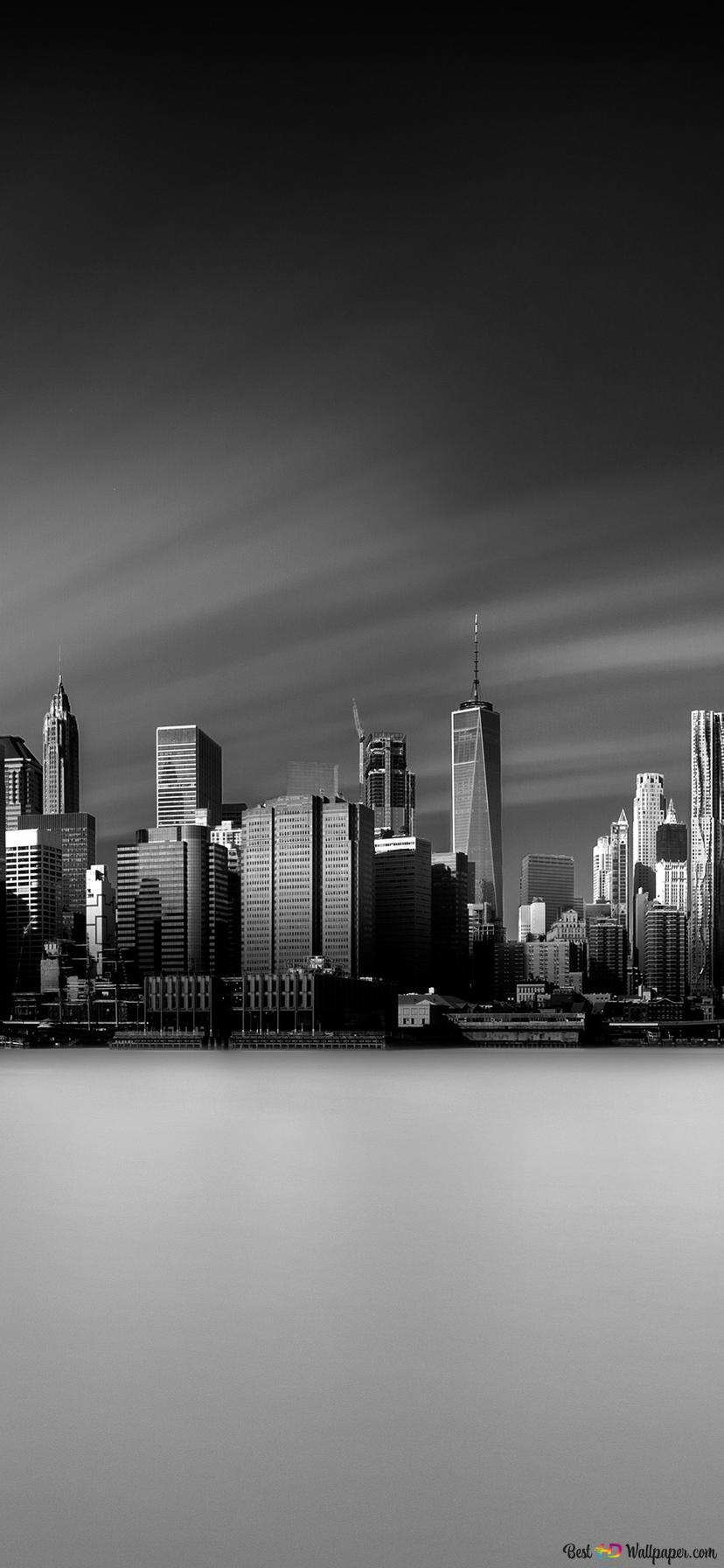 Grand City Of New York Hd Wallpaper Download
