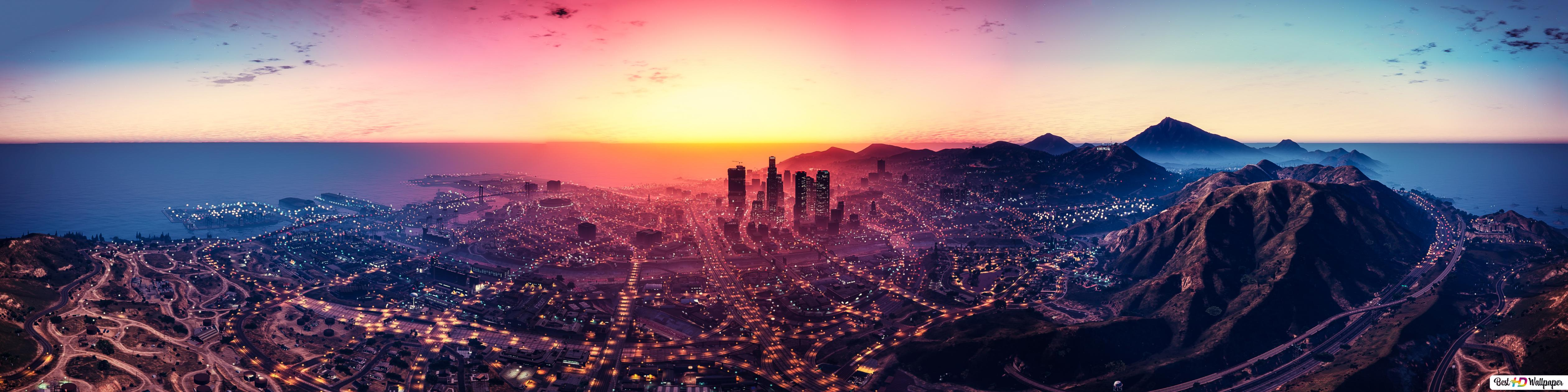 Grand Theft Auto V Los Santos Hd Wallpaper Download