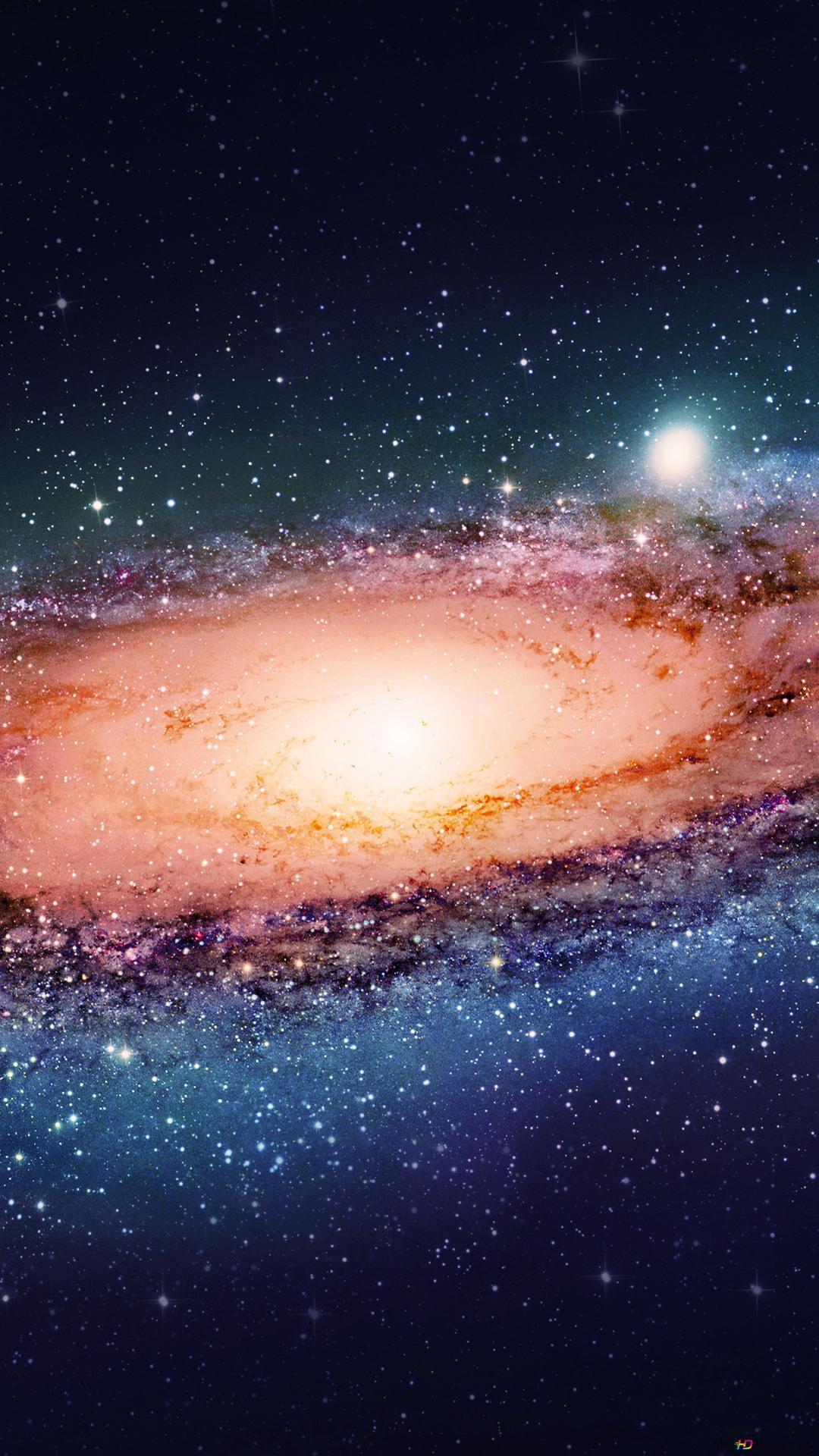 Grande Galaxie Dans L Espace Hd Fond D Ecran Telecharger