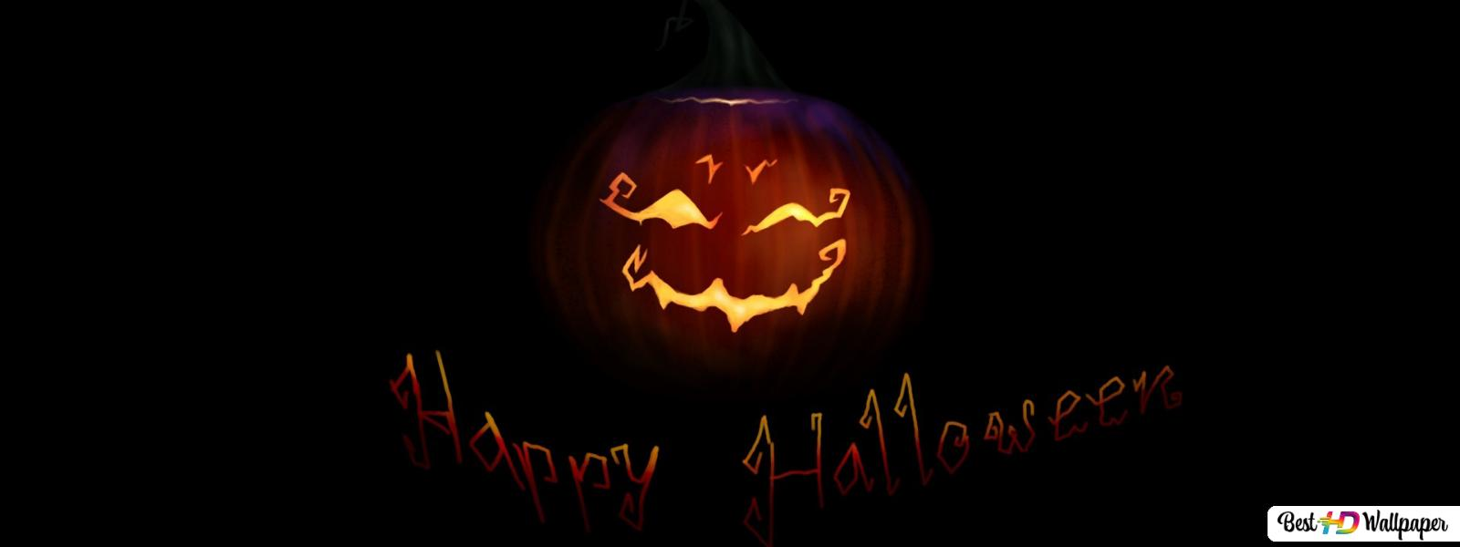Grinning Jack O Lantern Hd Wallpaper Download