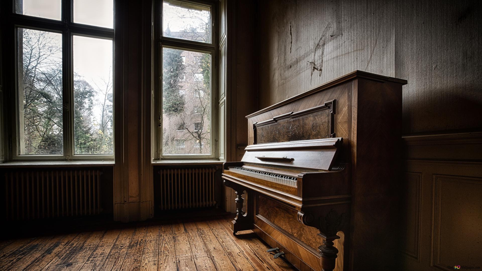 古いピアノの背景 Hd壁紙のダウンロード