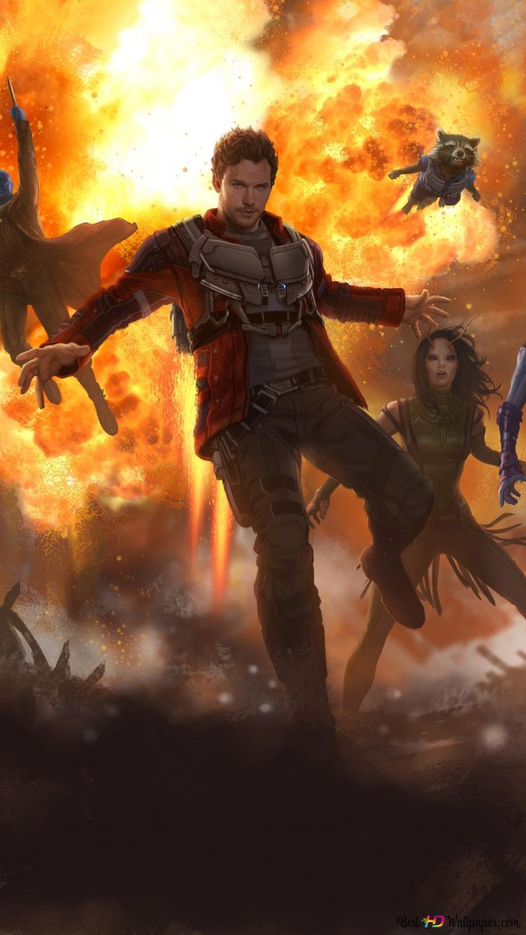 Guardians Of The Galaxy Vol 2 Heroes Hd Wallpaper Download