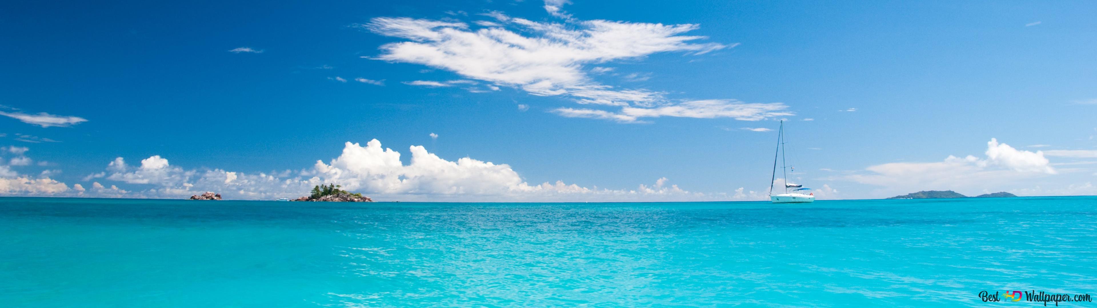 海と空 Hd壁紙のダウンロード