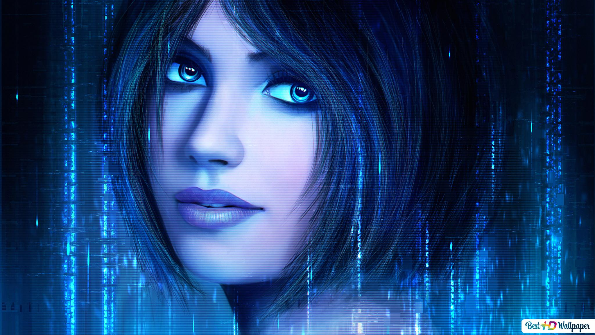 Halo: Combat Evolved game - Cortana AI HD wallpaper download