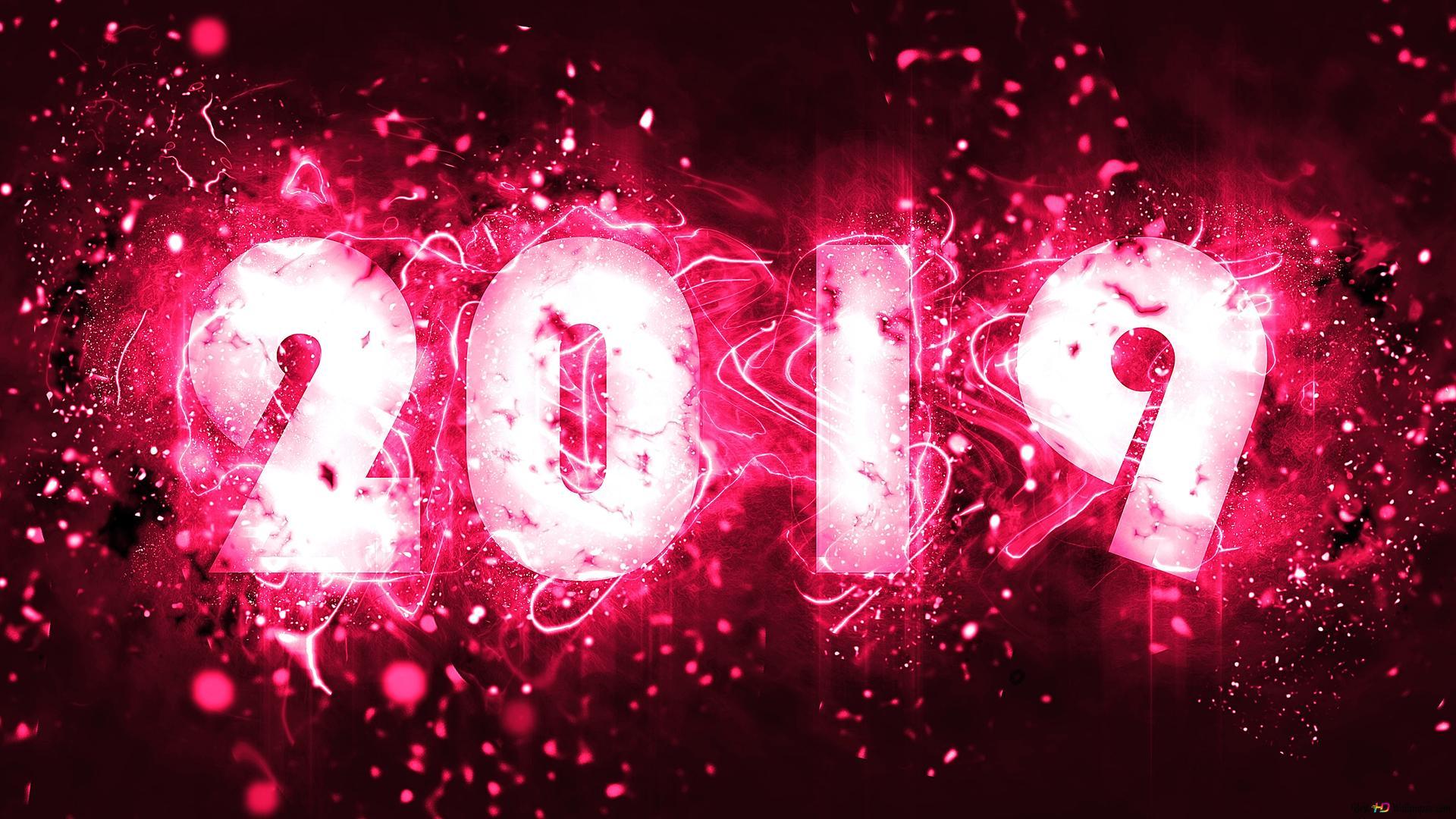 Happy flashing new year HD wallpaper download
