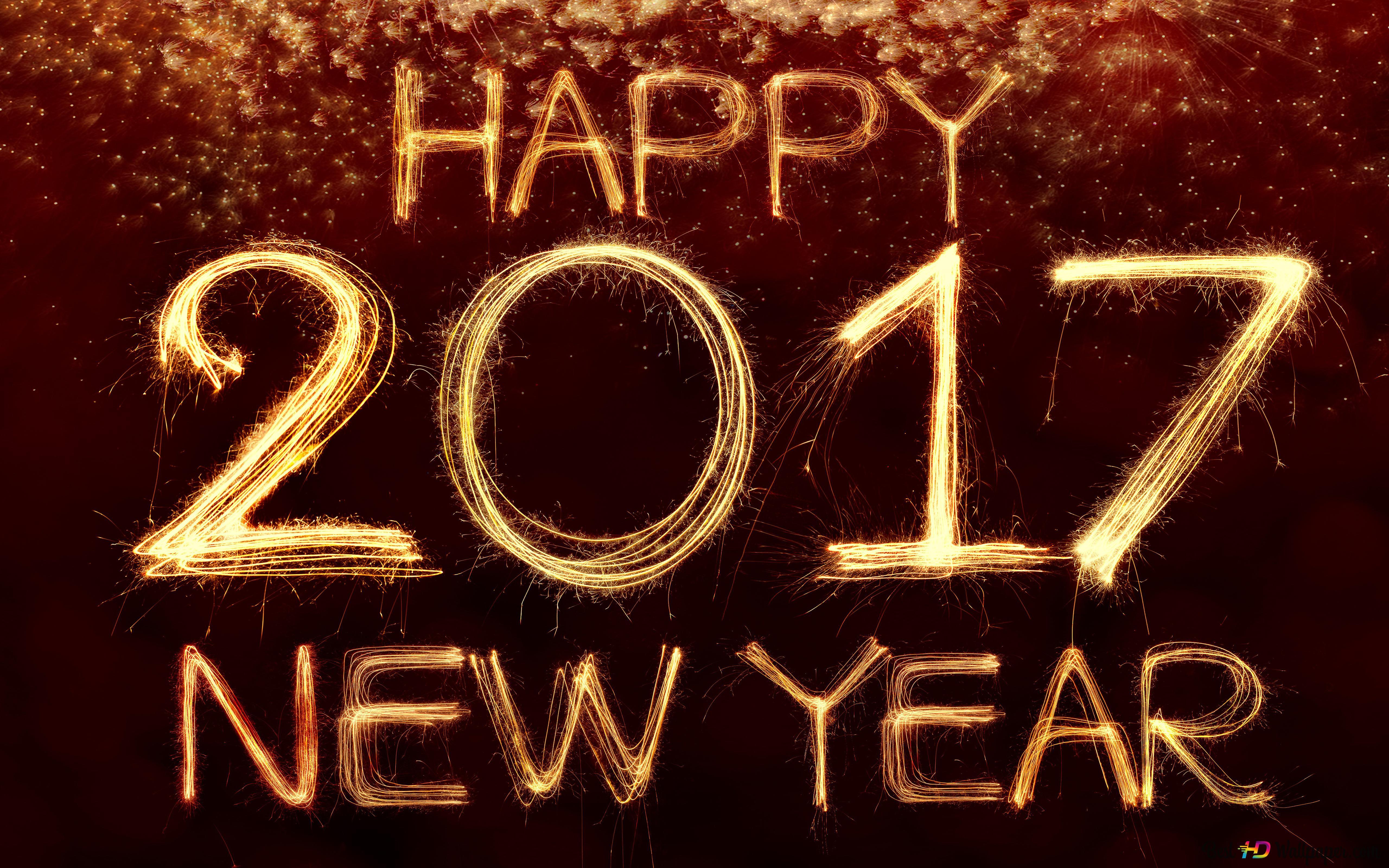 Happy New 2017 Year Hd Wallpaper Download