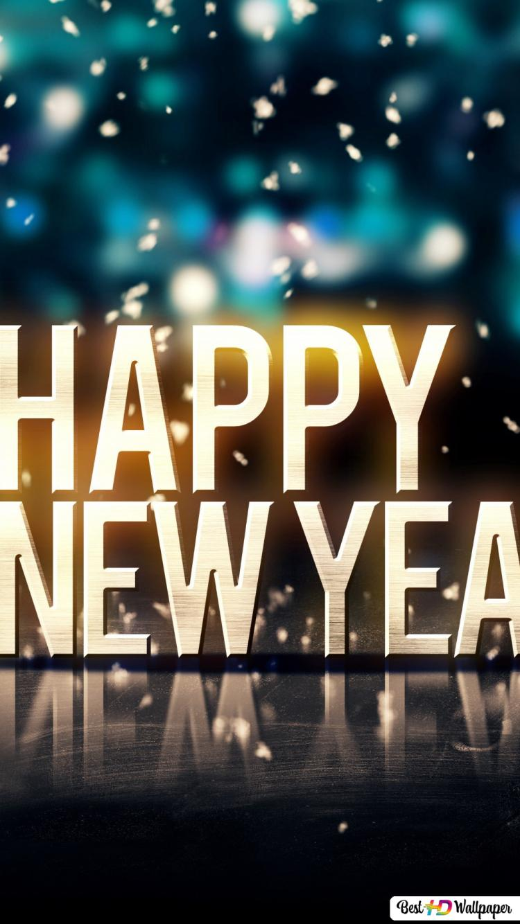 Happy New Year Colorful Hd Wallpaper Download