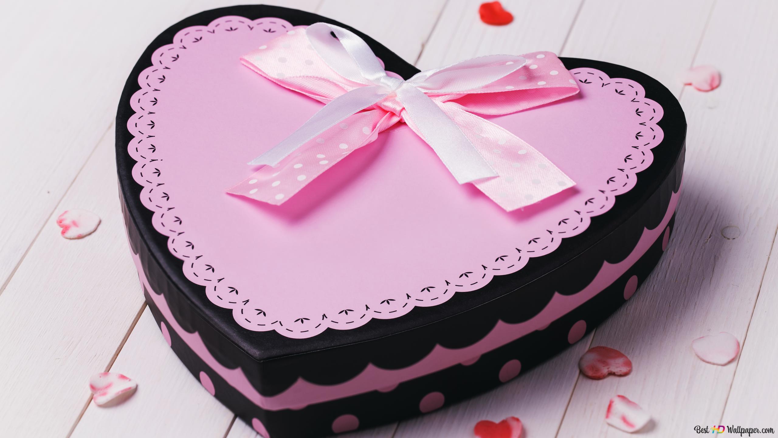 hari valentine hati berbentuk cinta kue wallpaper 2560x1440 3150 51