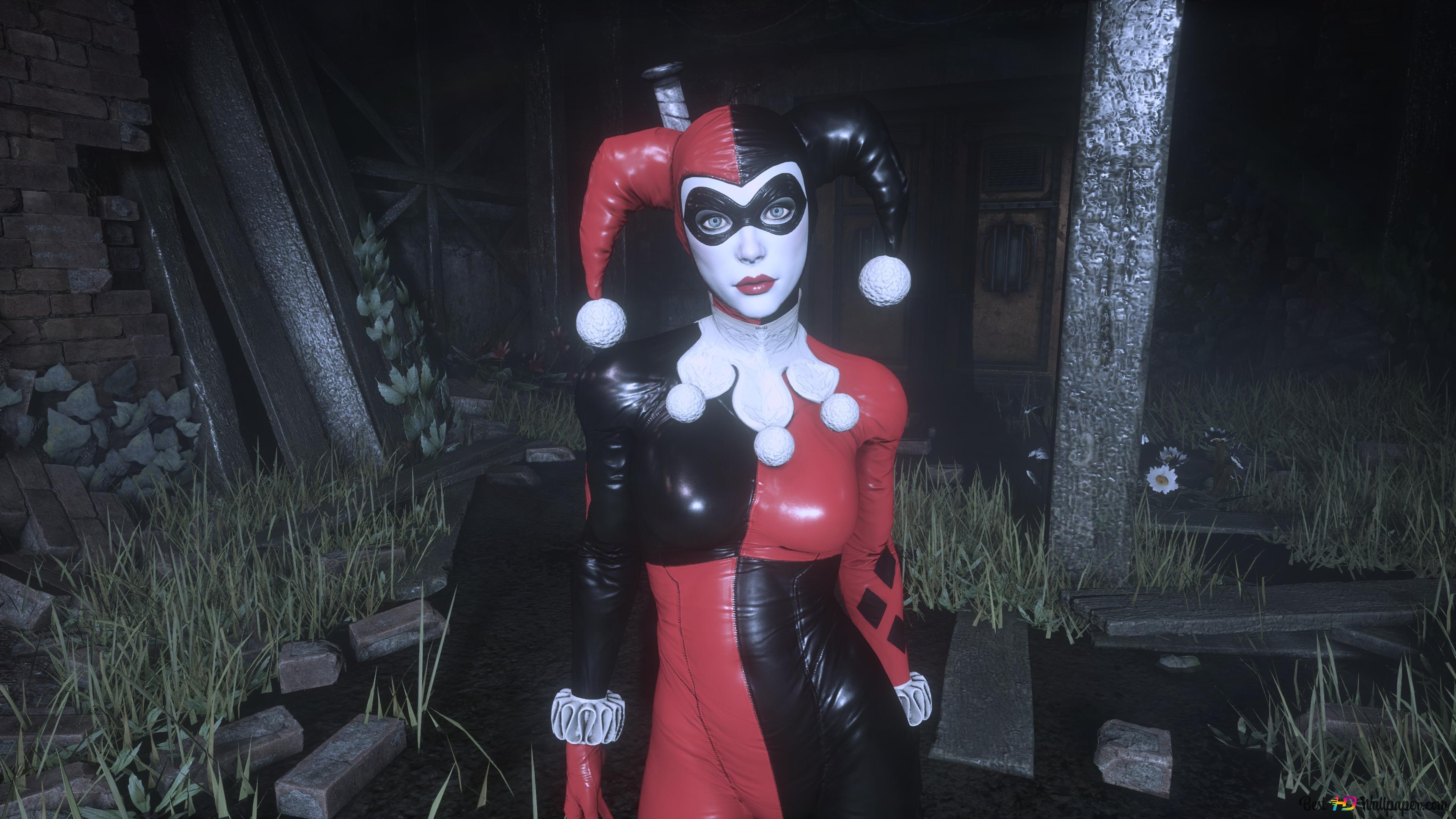 Harley Quinn Batman Arkham Knight Hd Wallpaper Download