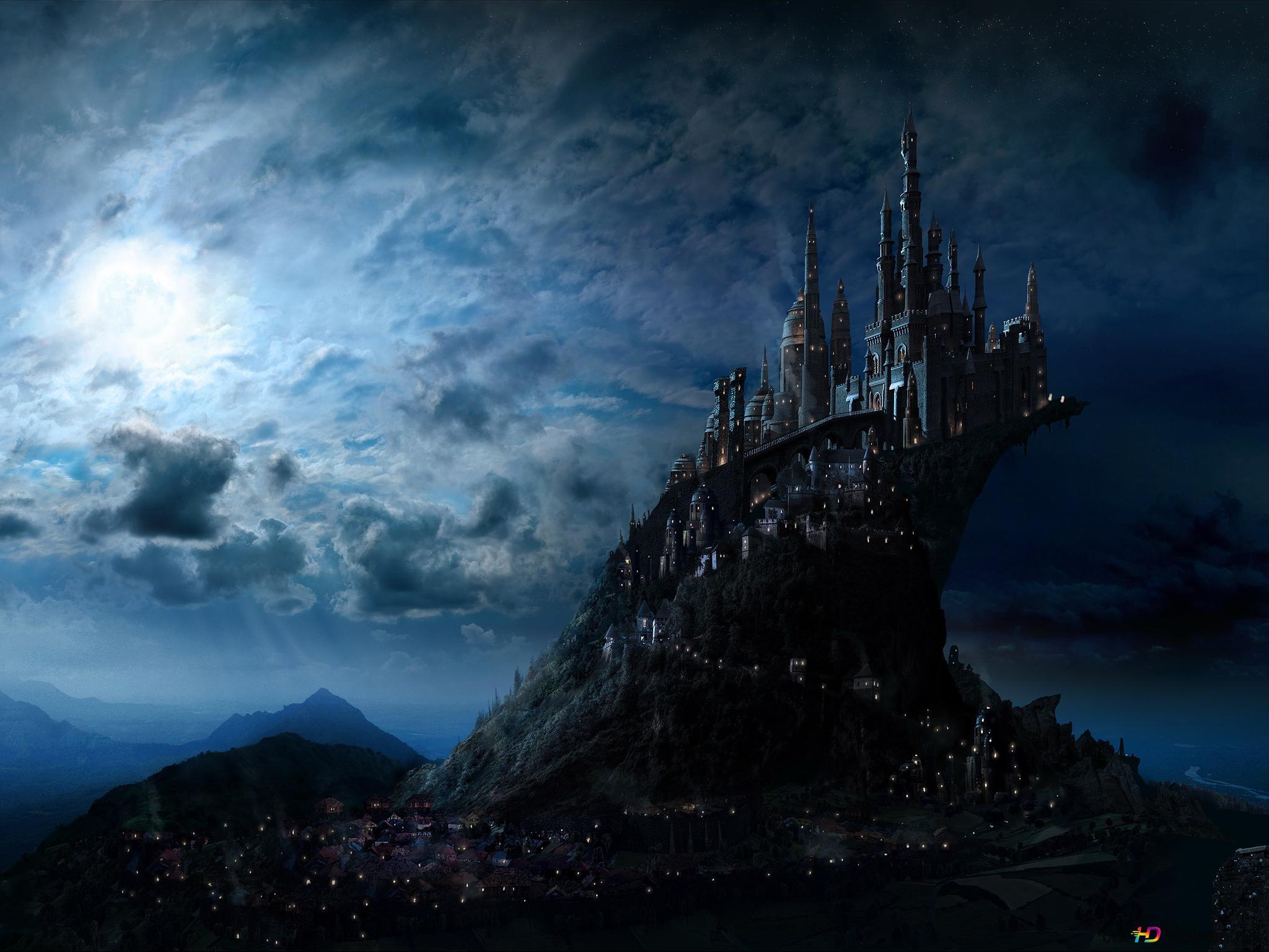 Harry Potter Film Hogwarts Schloss Hd Hintergrundbilder