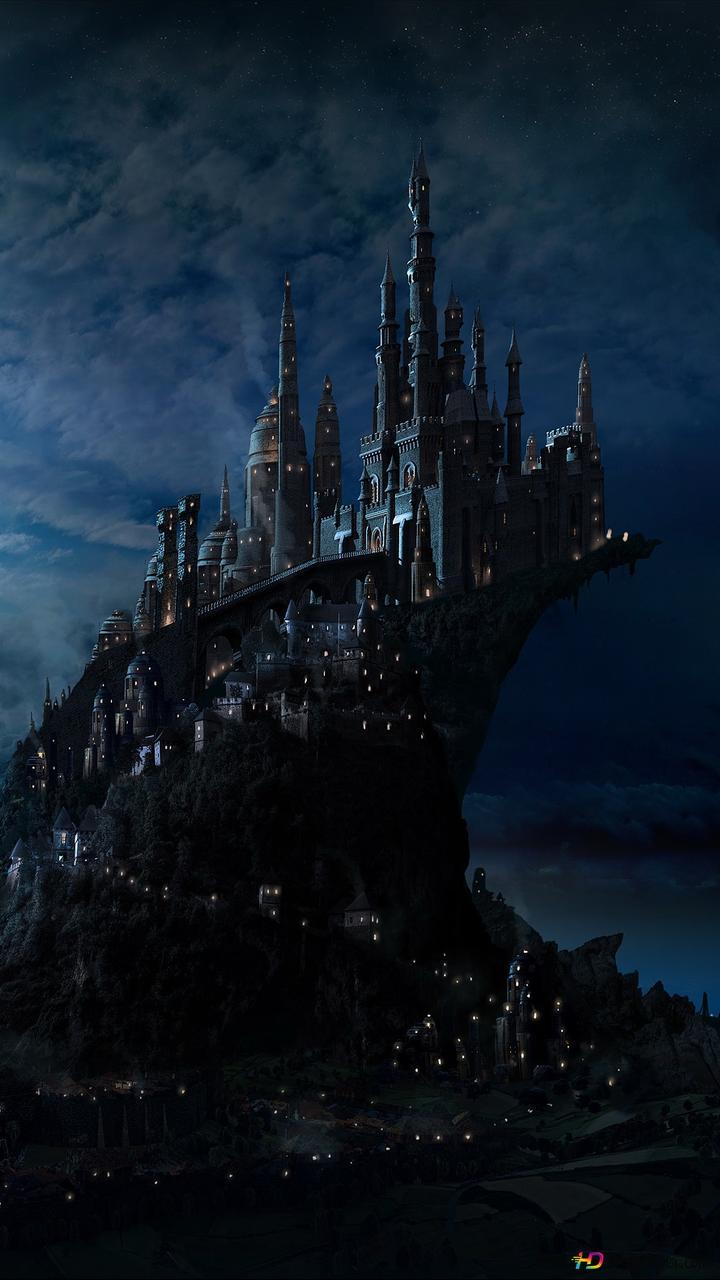 Harry Potter Movie Hogwarts Castle Hd Wallpaper Download
