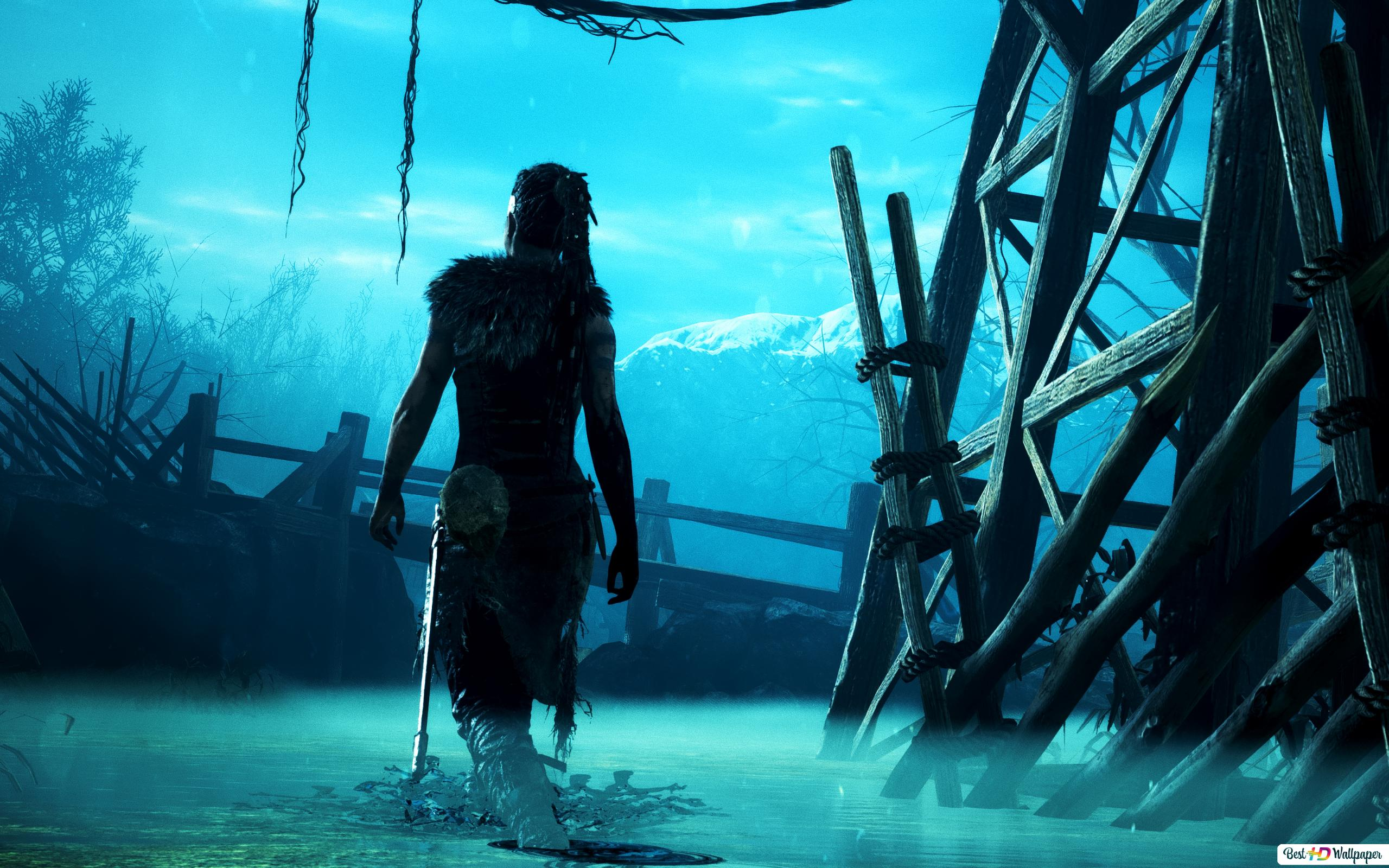 Hellblade Senua S Sacrifice Artwork Hd Wallpaper Download