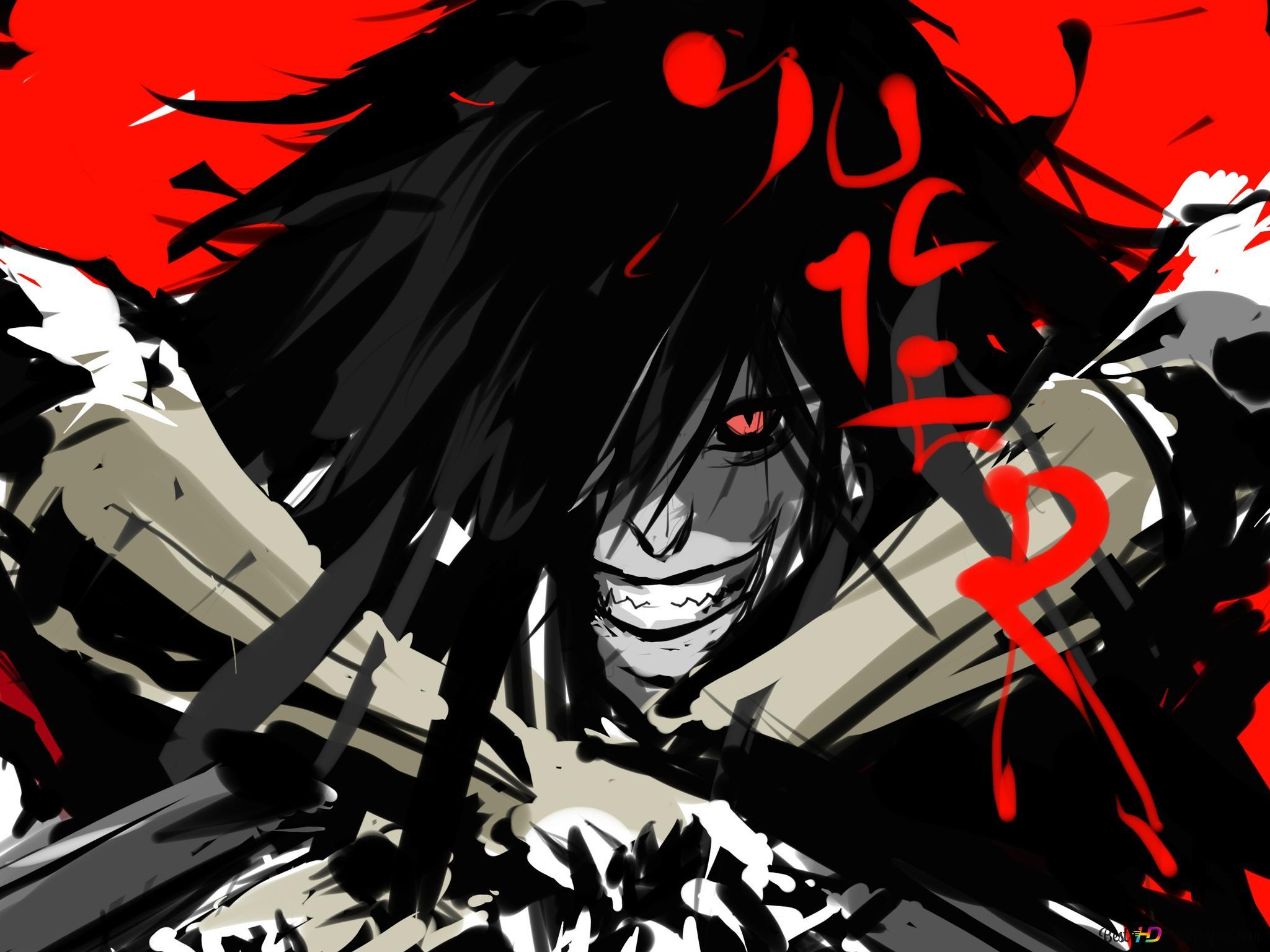 Hellsing Alucard Smile Wwwtopsimagescom