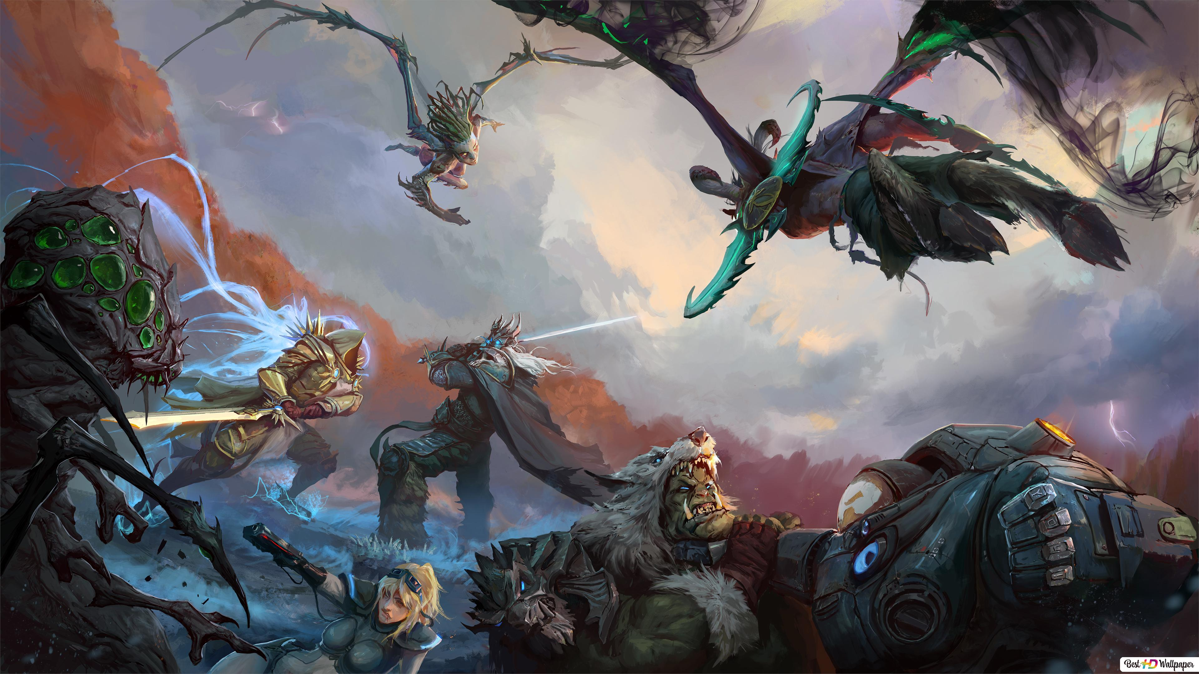 Heroes Of The Storm Hd Wallpaper Download