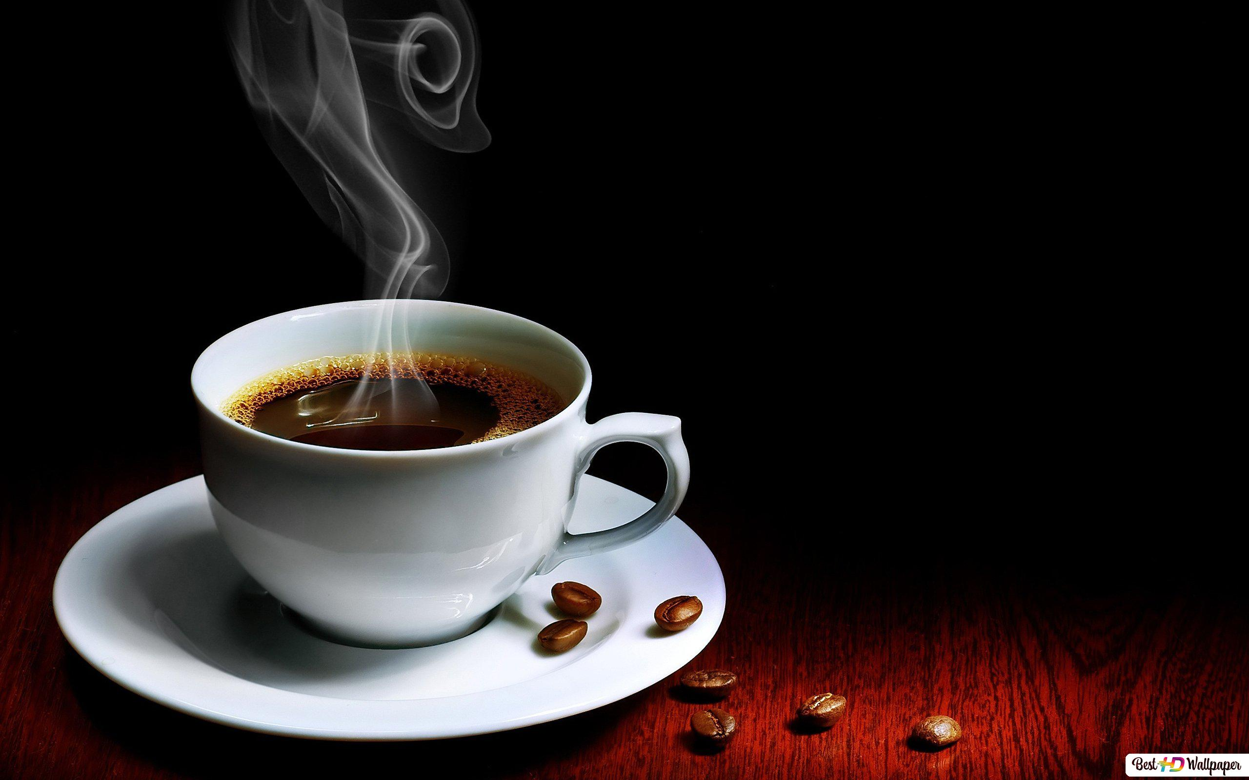 Hot Coffee Cup Hd Wallpaper Download