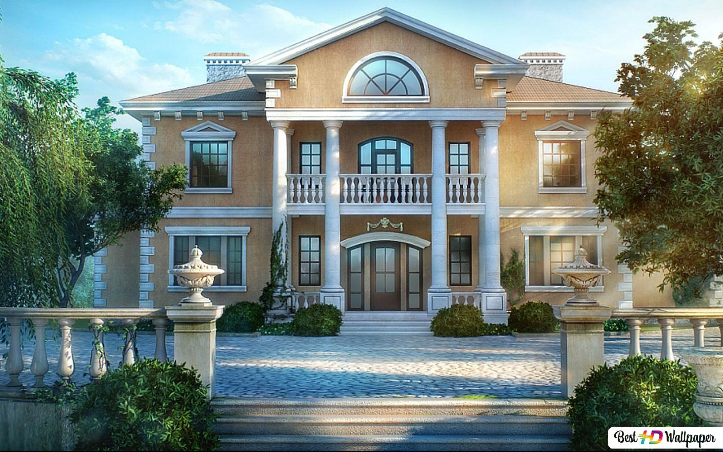 House Front View Hd Wallpaper Download