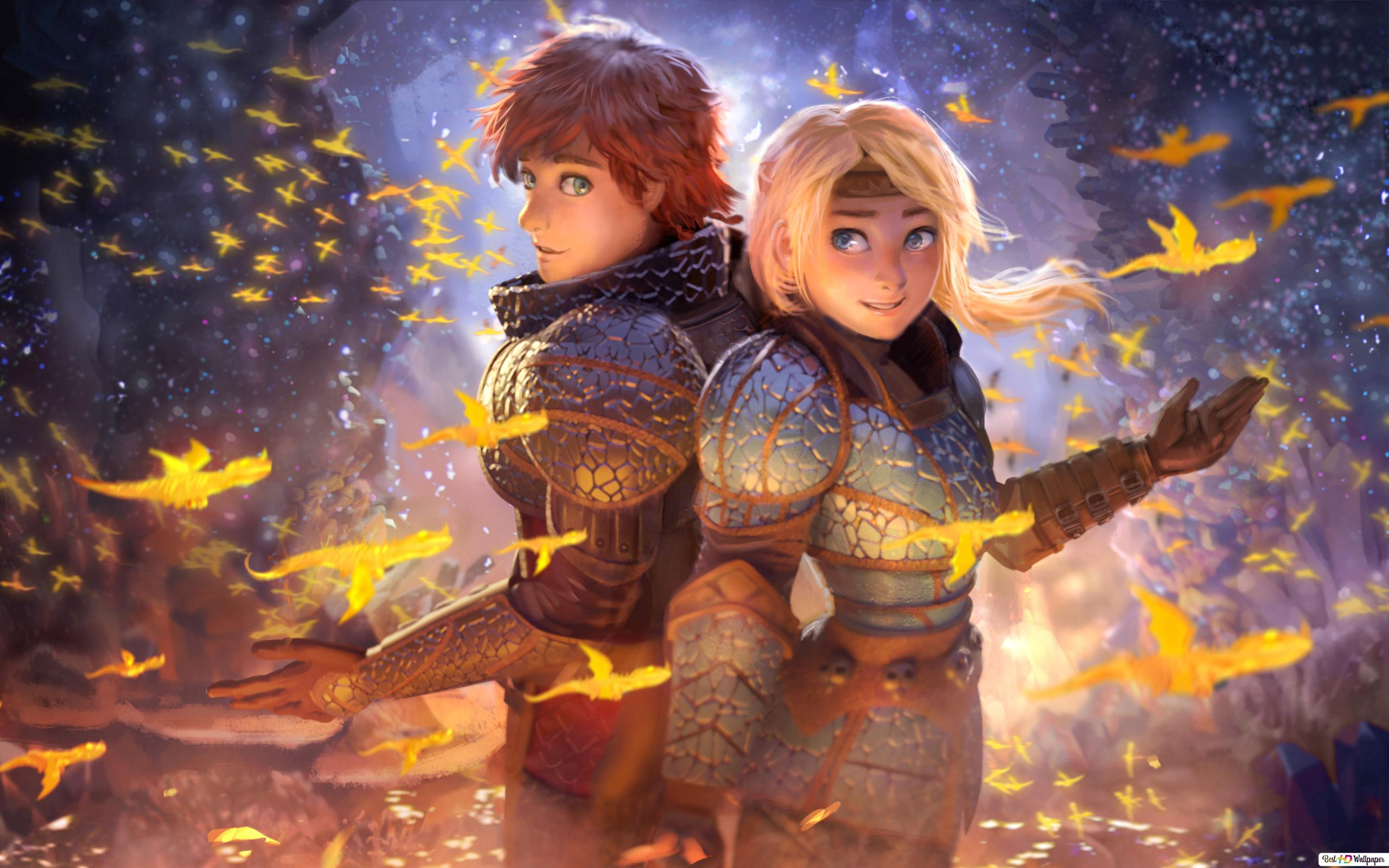 How To Train Your Dragon The Hidden World Hd Wallpaper Download