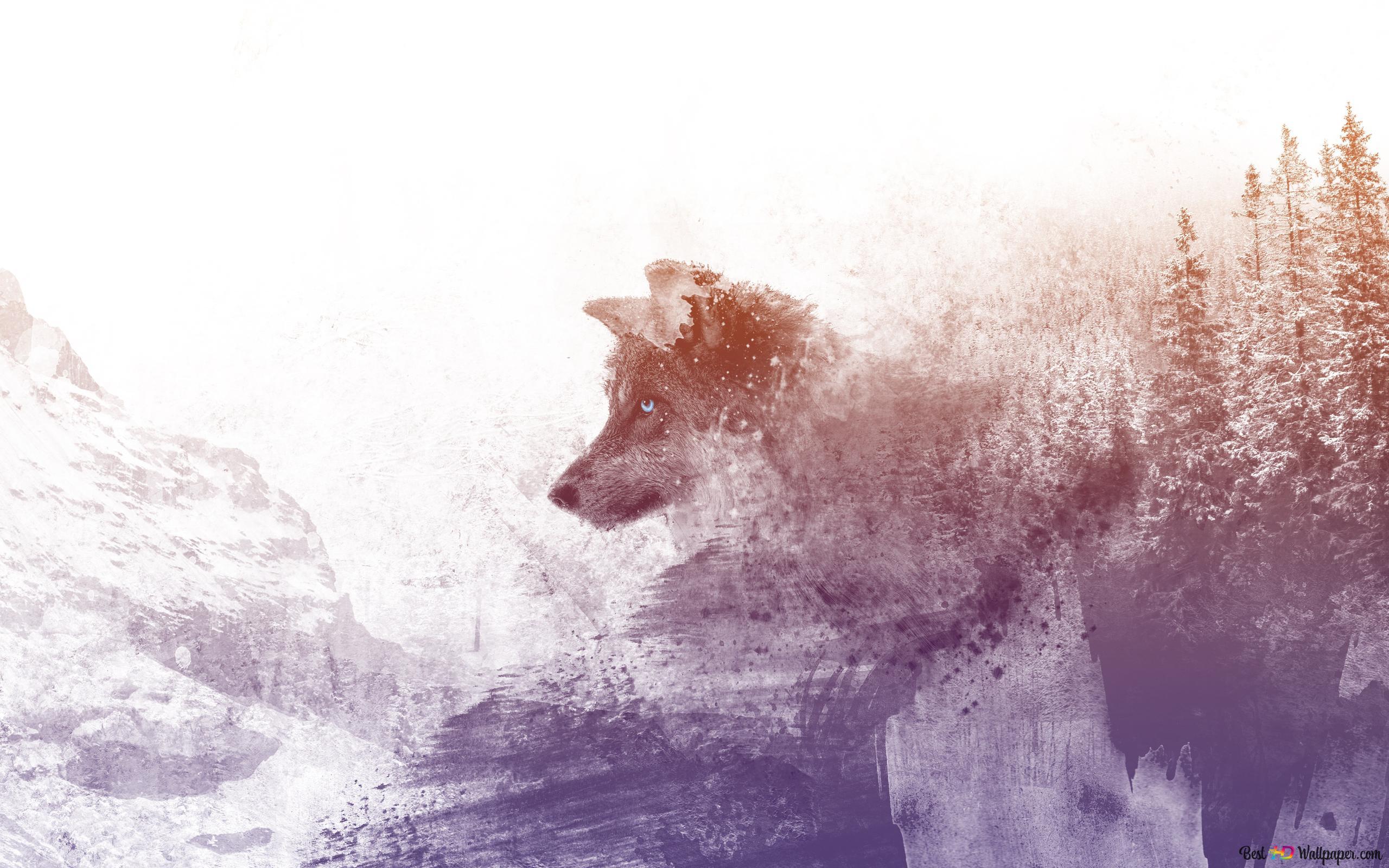 荒野の狼 Hd壁紙のダウンロード
