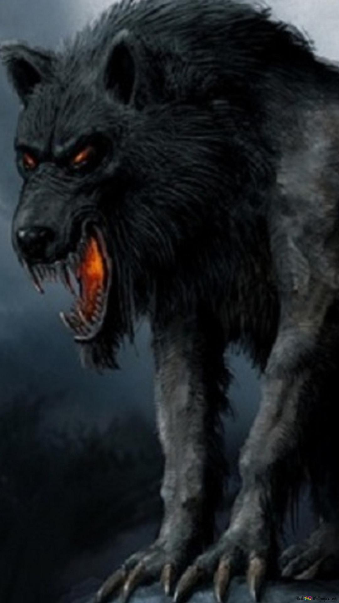 ファンタジークリーチャー 狼 Hd壁紙のダウンロード