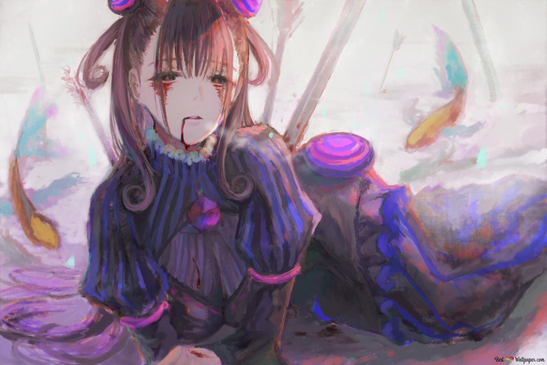 紫式部 壁紙