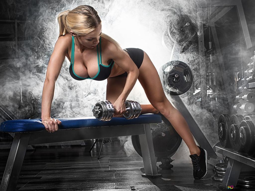 フィットネス女性のトレーニング Hd壁紙のダウンロード